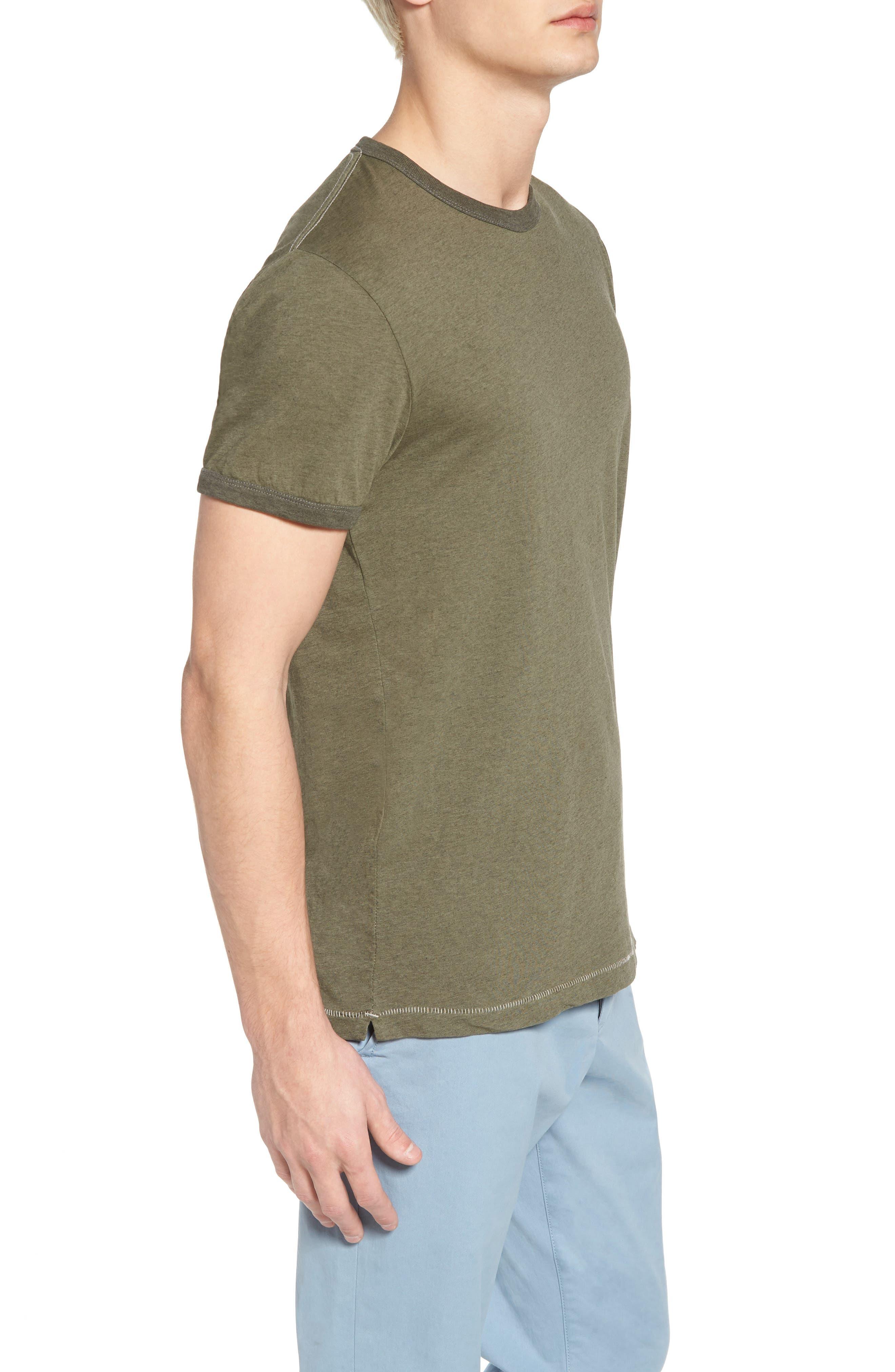 Bens Slim Fit Ringer T-Shirt,                             Alternate thumbnail 8, color,