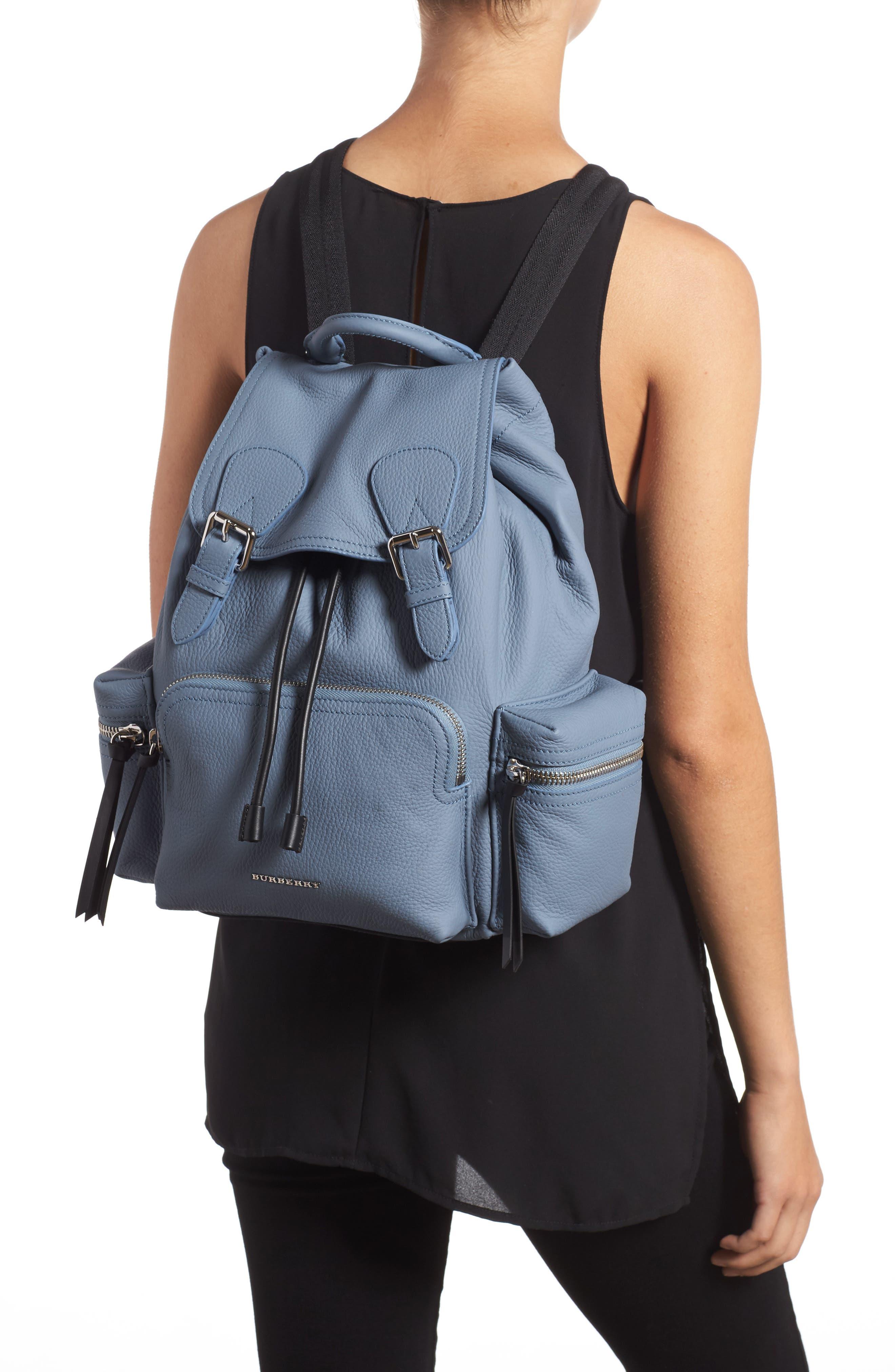 Medium Rucksack Deerskin Backpack,                             Alternate thumbnail 2, color,                             427