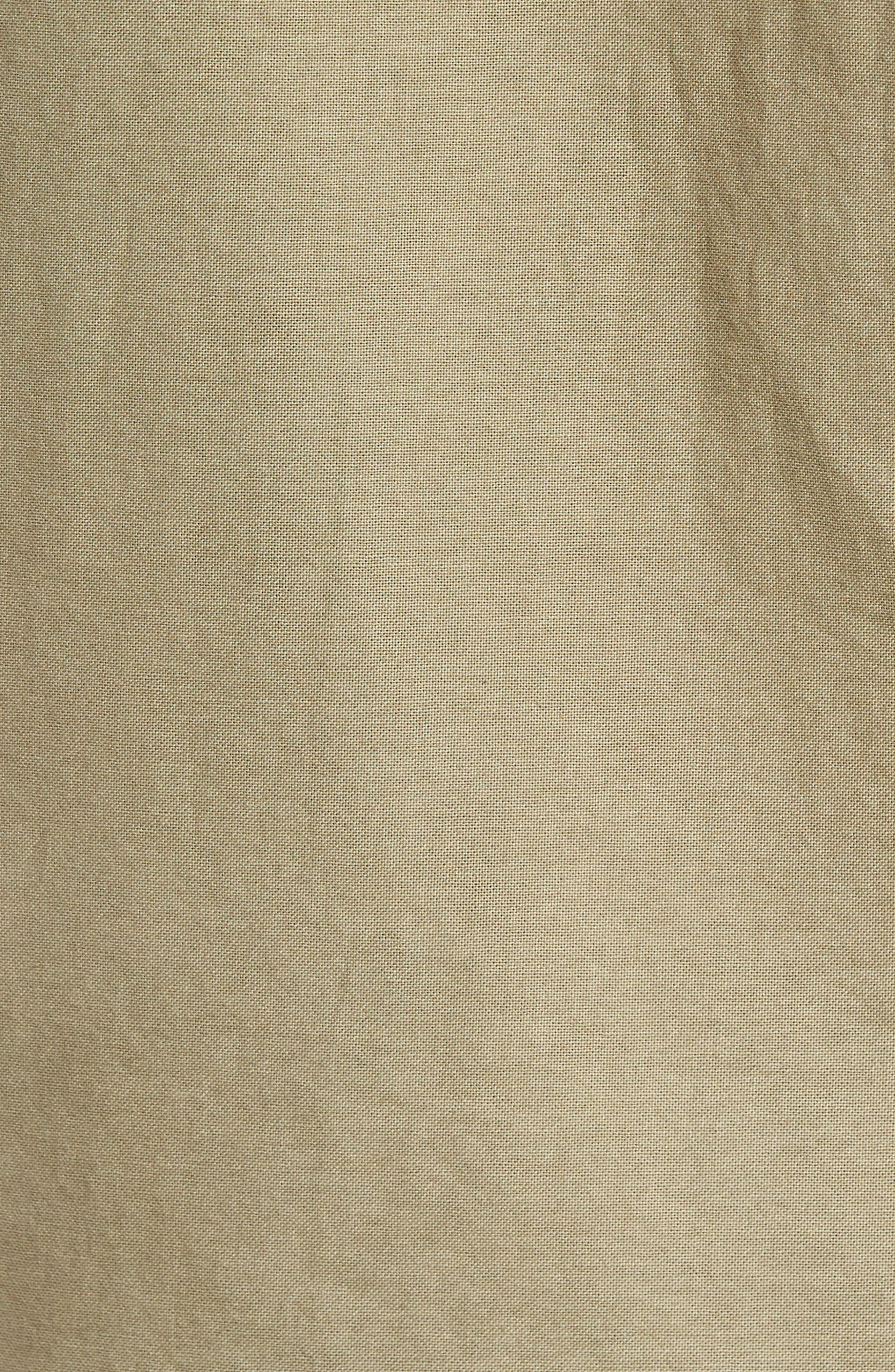 Caleb Slim Fit Twill Sport Shirt,                             Alternate thumbnail 9, color,