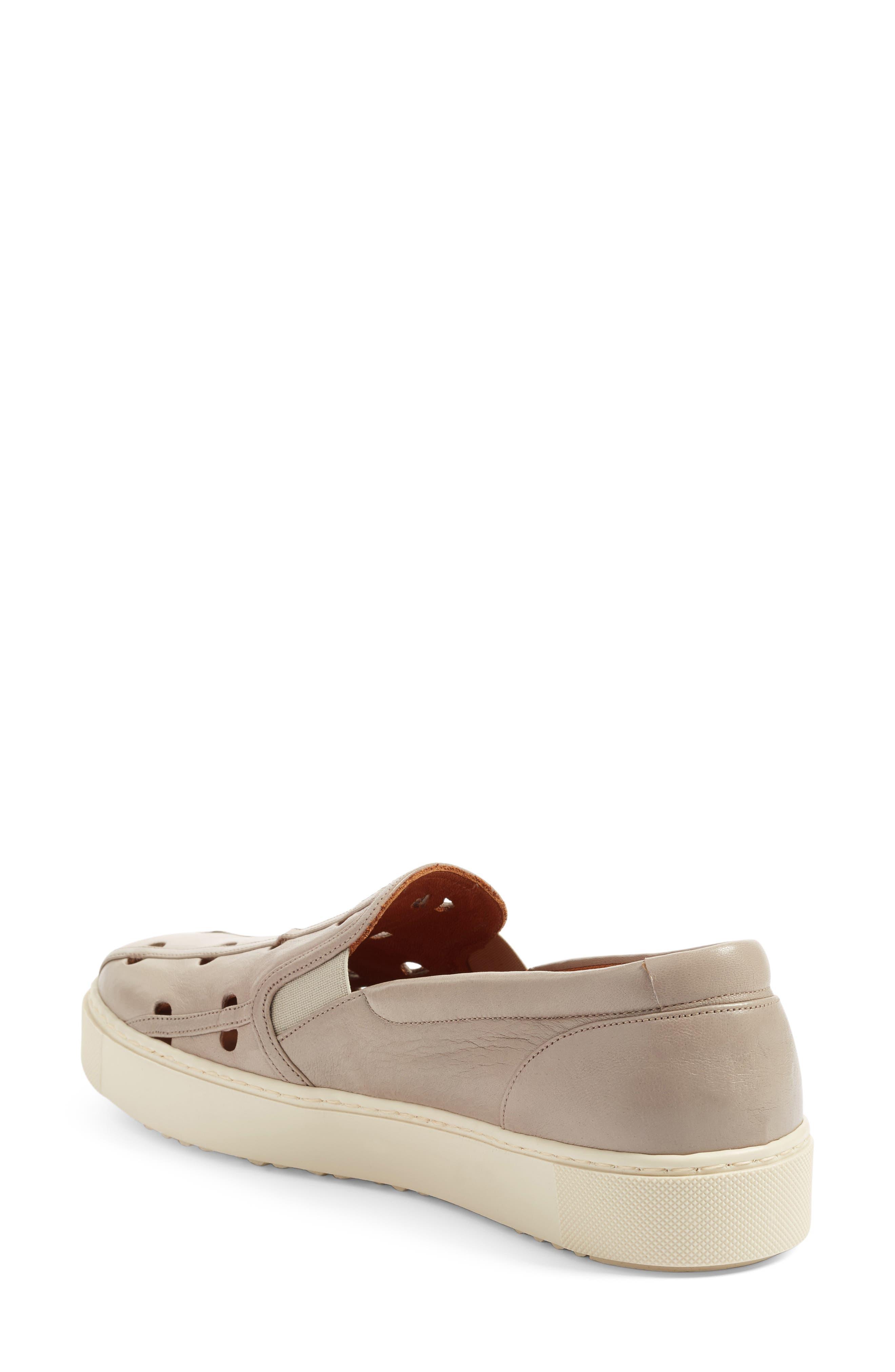 Zanca Slip-On Sneaker,                             Alternate thumbnail 2, color,                             020