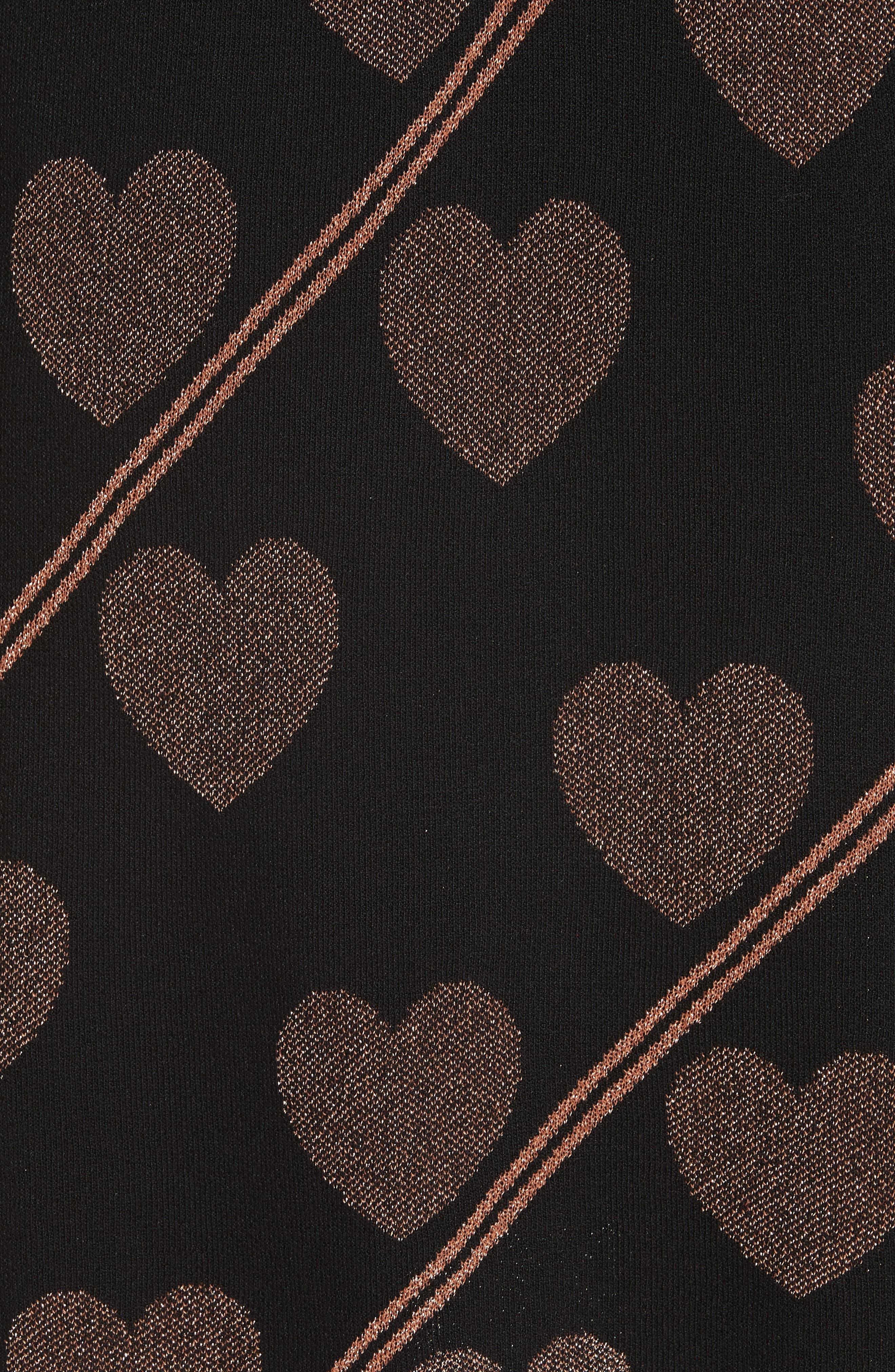 Uzeniaa Joyous Sweater Dress,                             Alternate thumbnail 5, color,                             BLACK