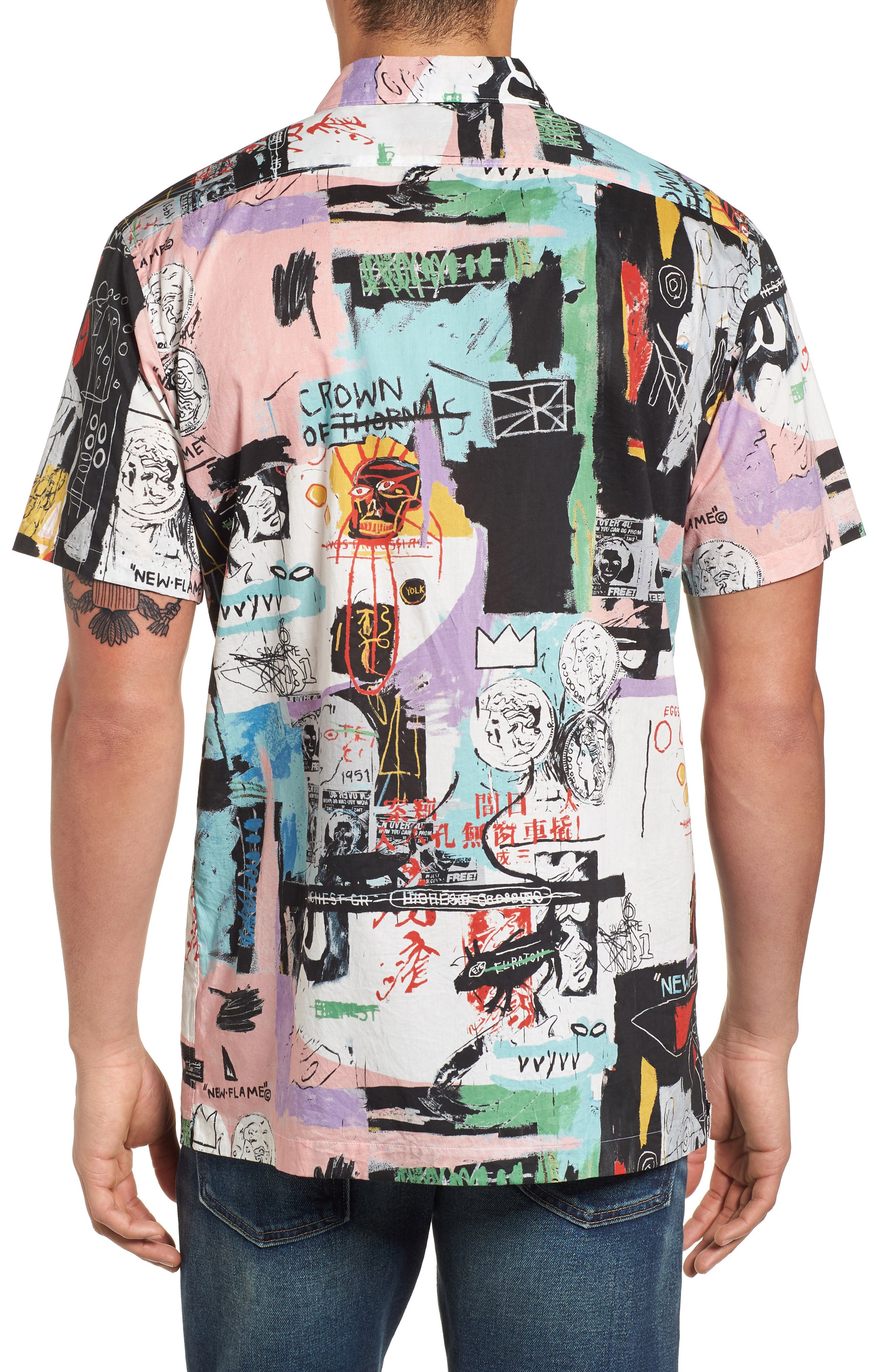 x Warhol Factory Shirt,                             Alternate thumbnail 2, color,                             001