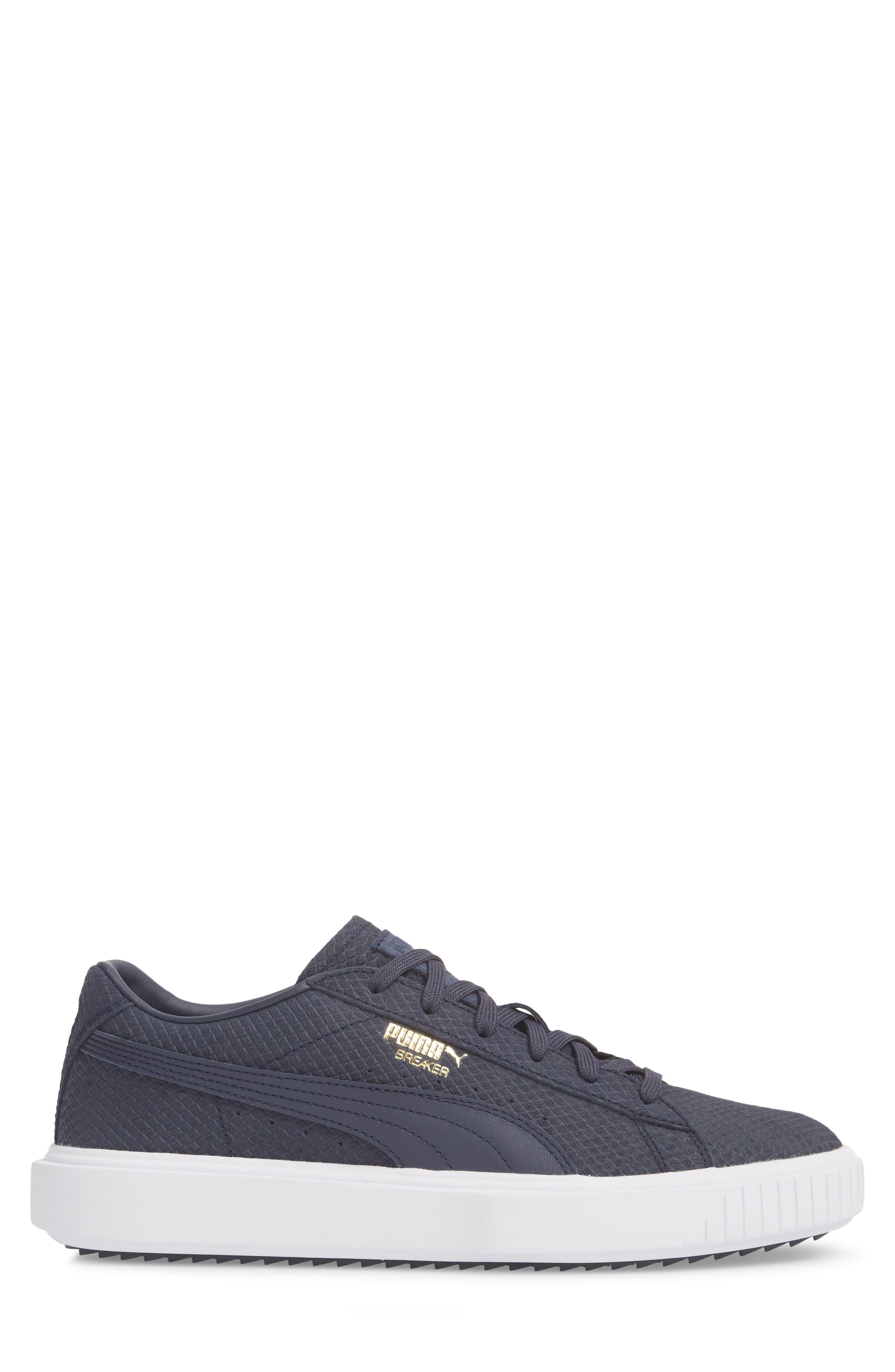 Breaker Suede Sneaker,                             Alternate thumbnail 3, color,                             400
