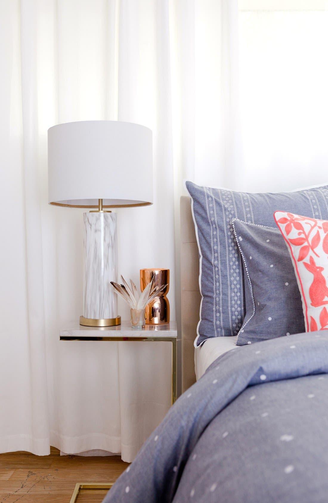 Marble Column Table Lamp,                             Alternate thumbnail 6, color,