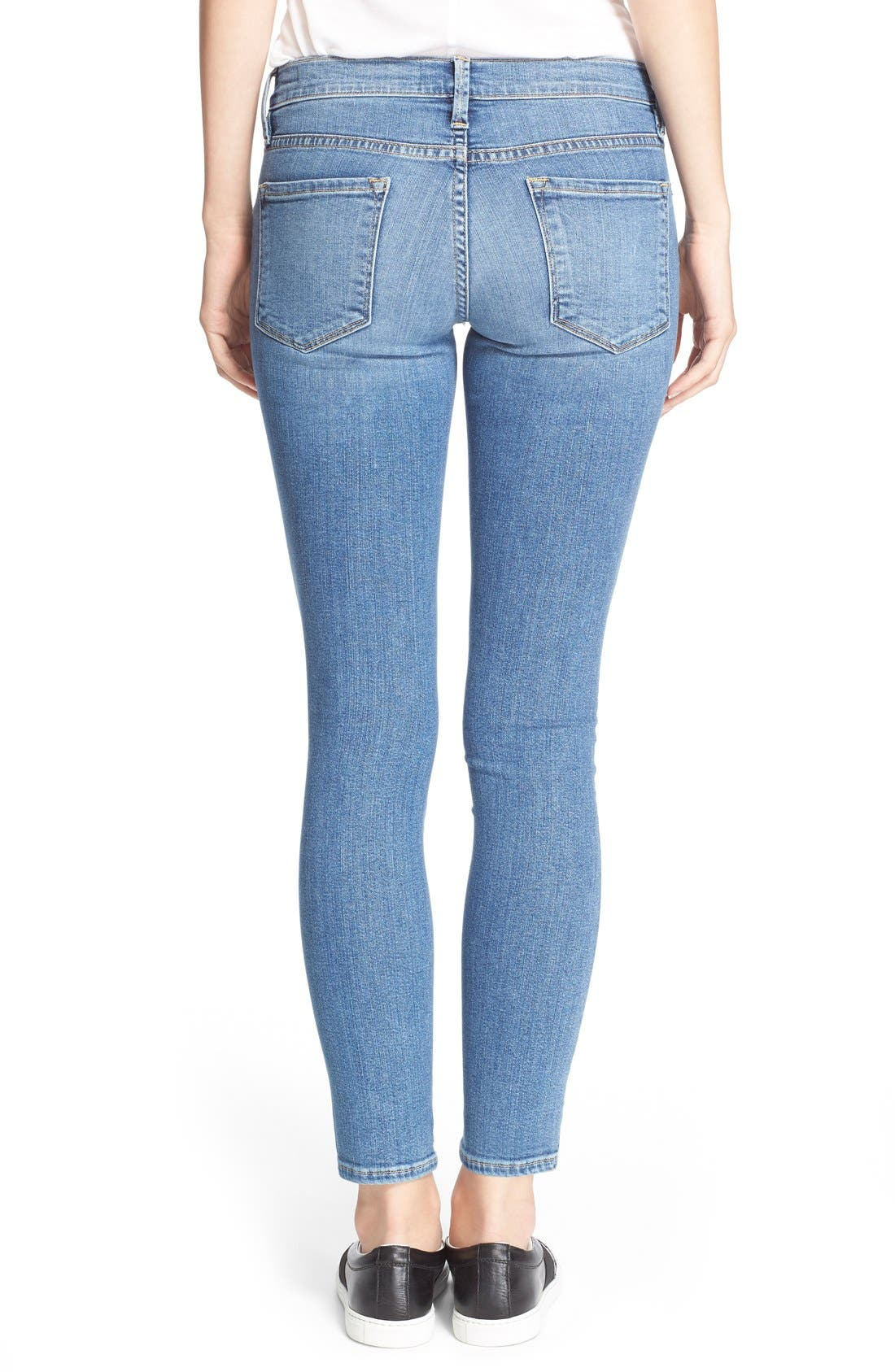 FRAME,                             'Le Skinny de Jeanne' Jeans,                             Alternate thumbnail 3, color,                             402