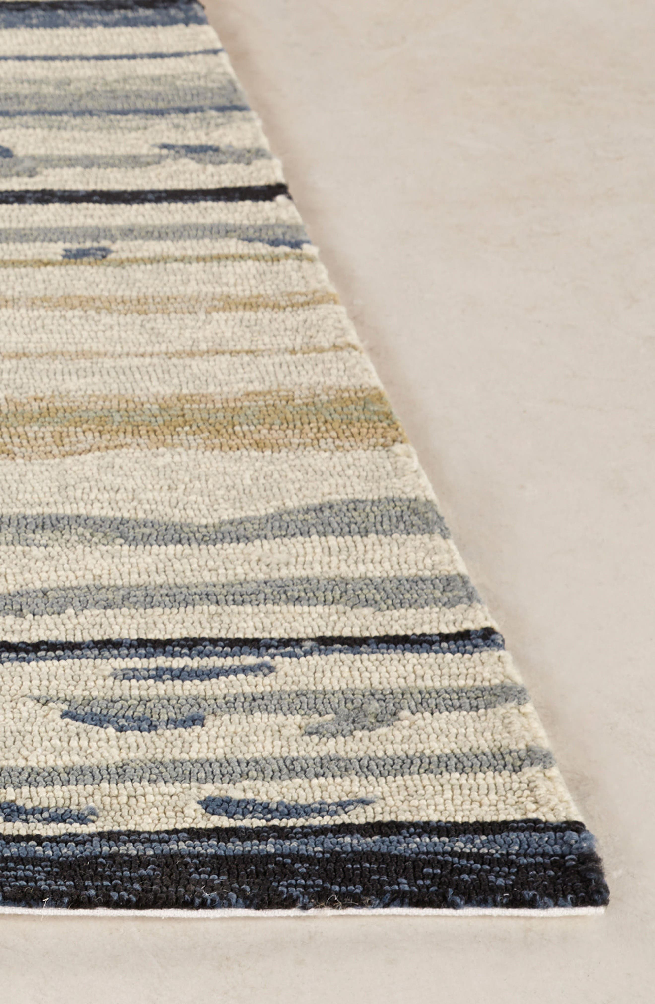 Spa Indoor/Outdoor Rug,                             Alternate thumbnail 3, color,                             NATURAL/ IVORY