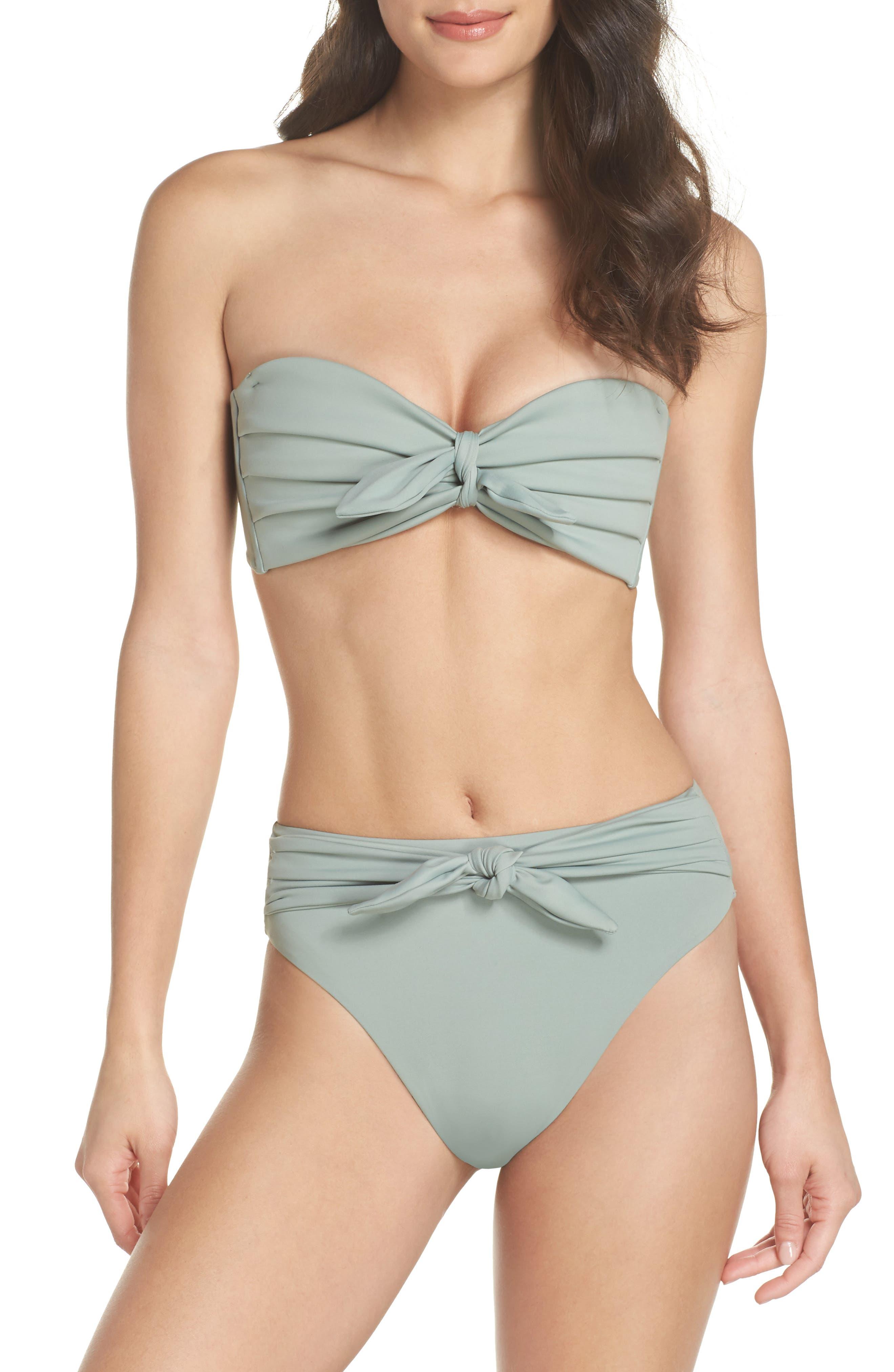Cabana Bikini Top,                             Alternate thumbnail 8, color,                             PISTACHE GREEN