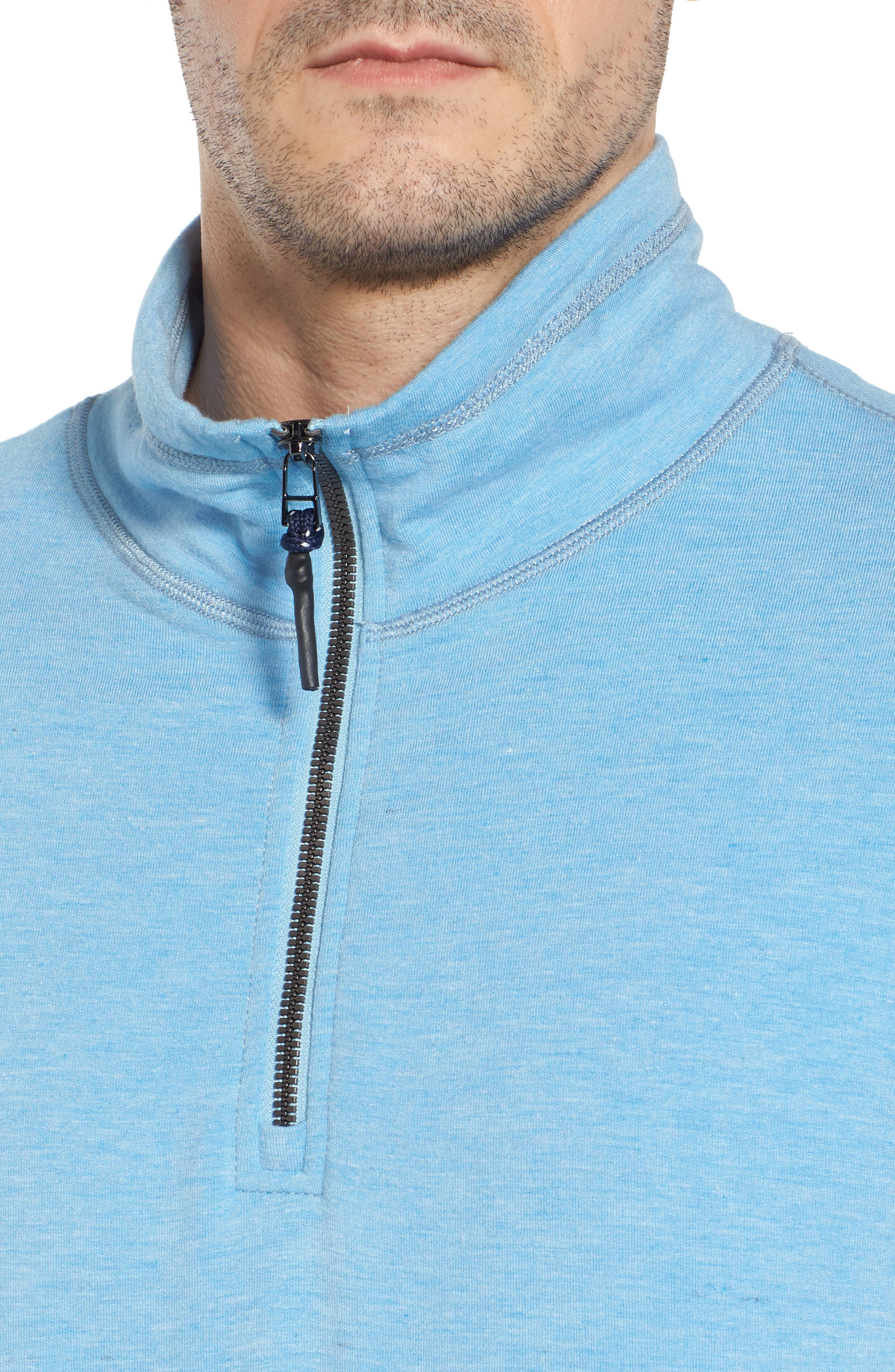 Brushback Quarter Zip Pullover,                             Alternate thumbnail 12, color,