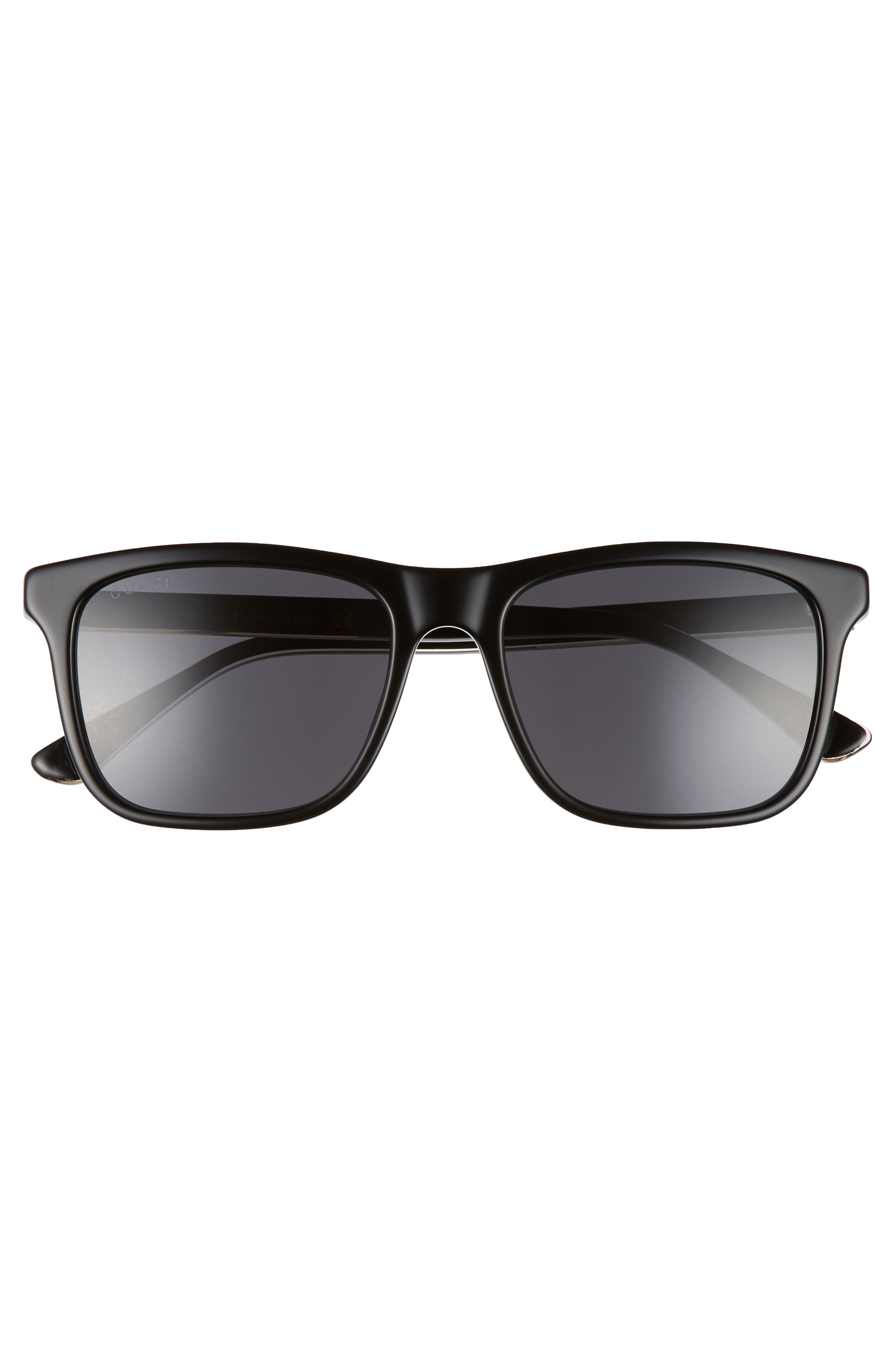 55mm Polarized Sunglasses,                             Alternate thumbnail 2, color,                             001