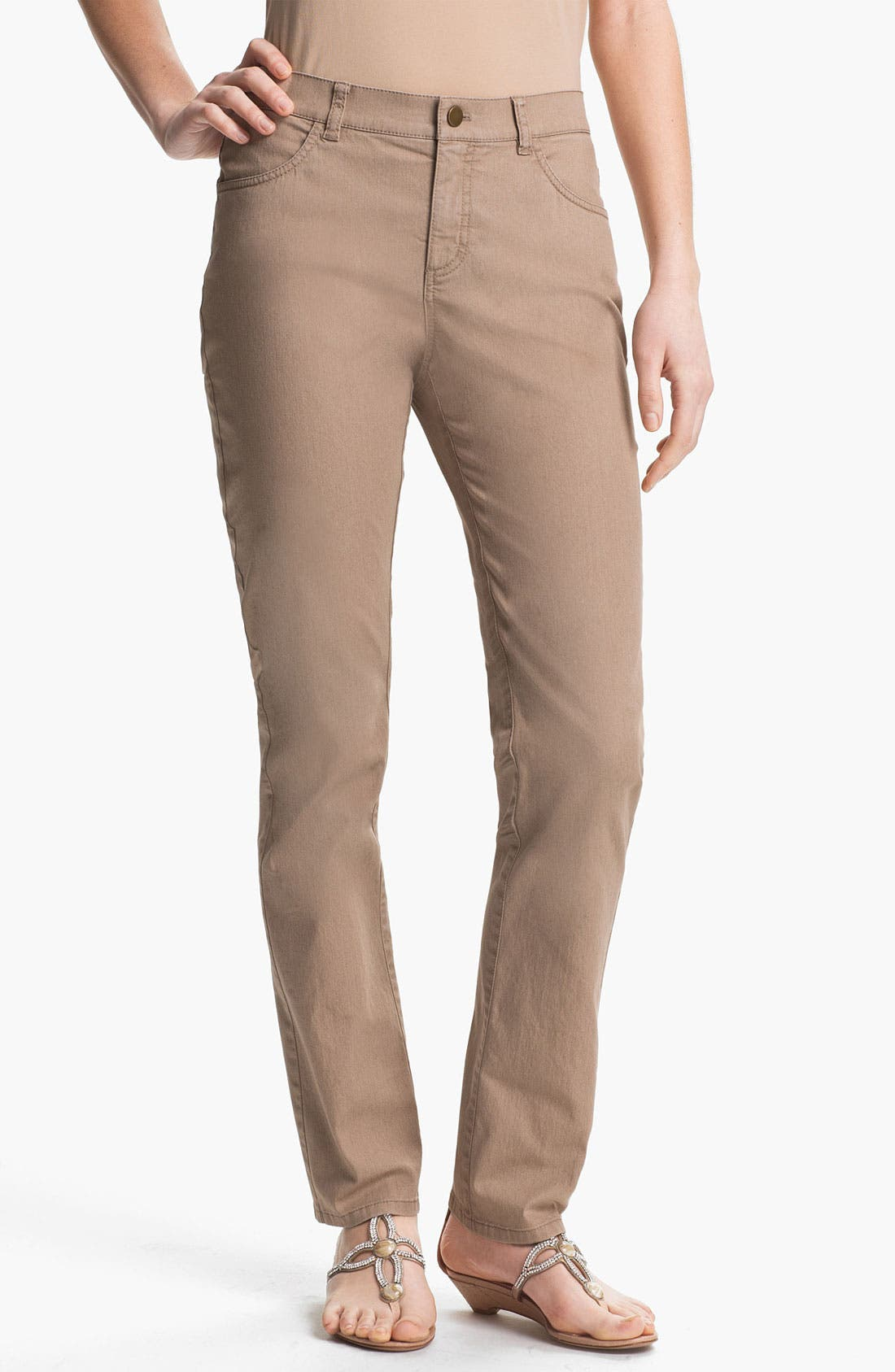'Primo Denim' Curvy Fit Slim Leg Jeans,                             Main thumbnail 1, color,