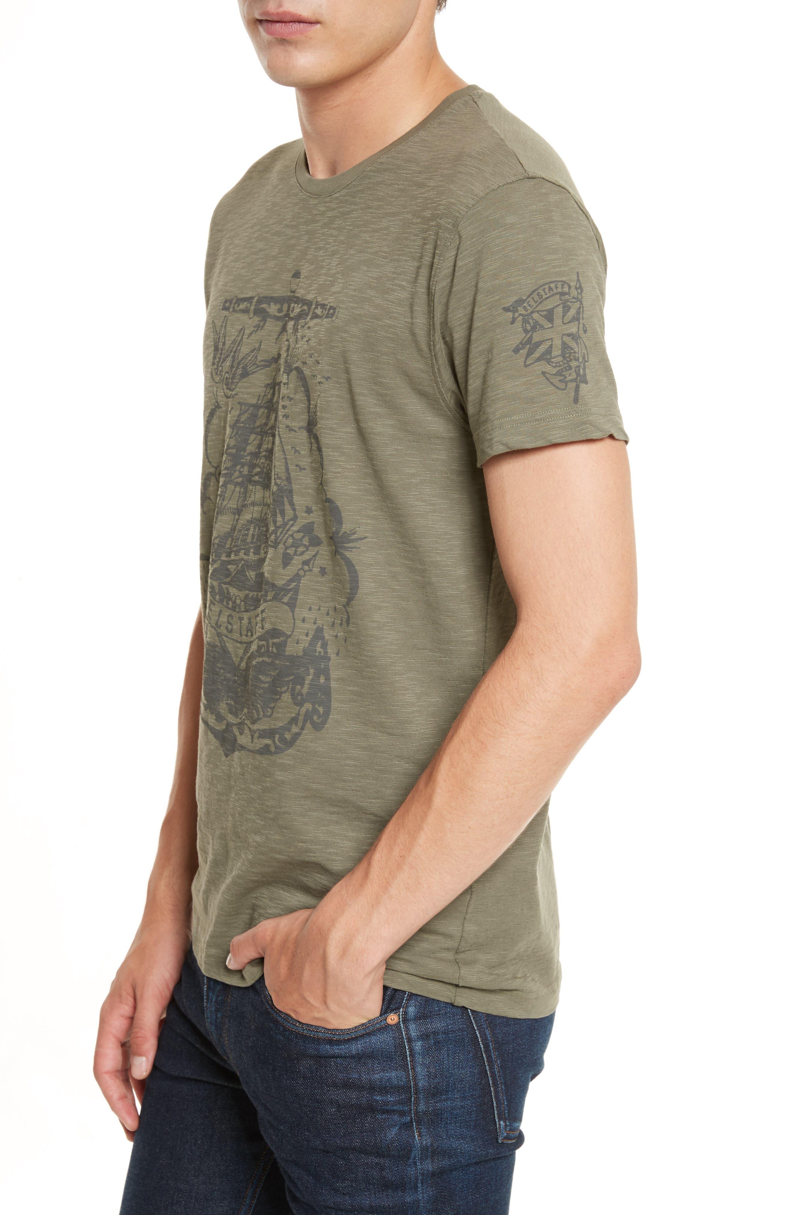 Hunsdon Graphic T-Shirt,                             Alternate thumbnail 4, color,                             332