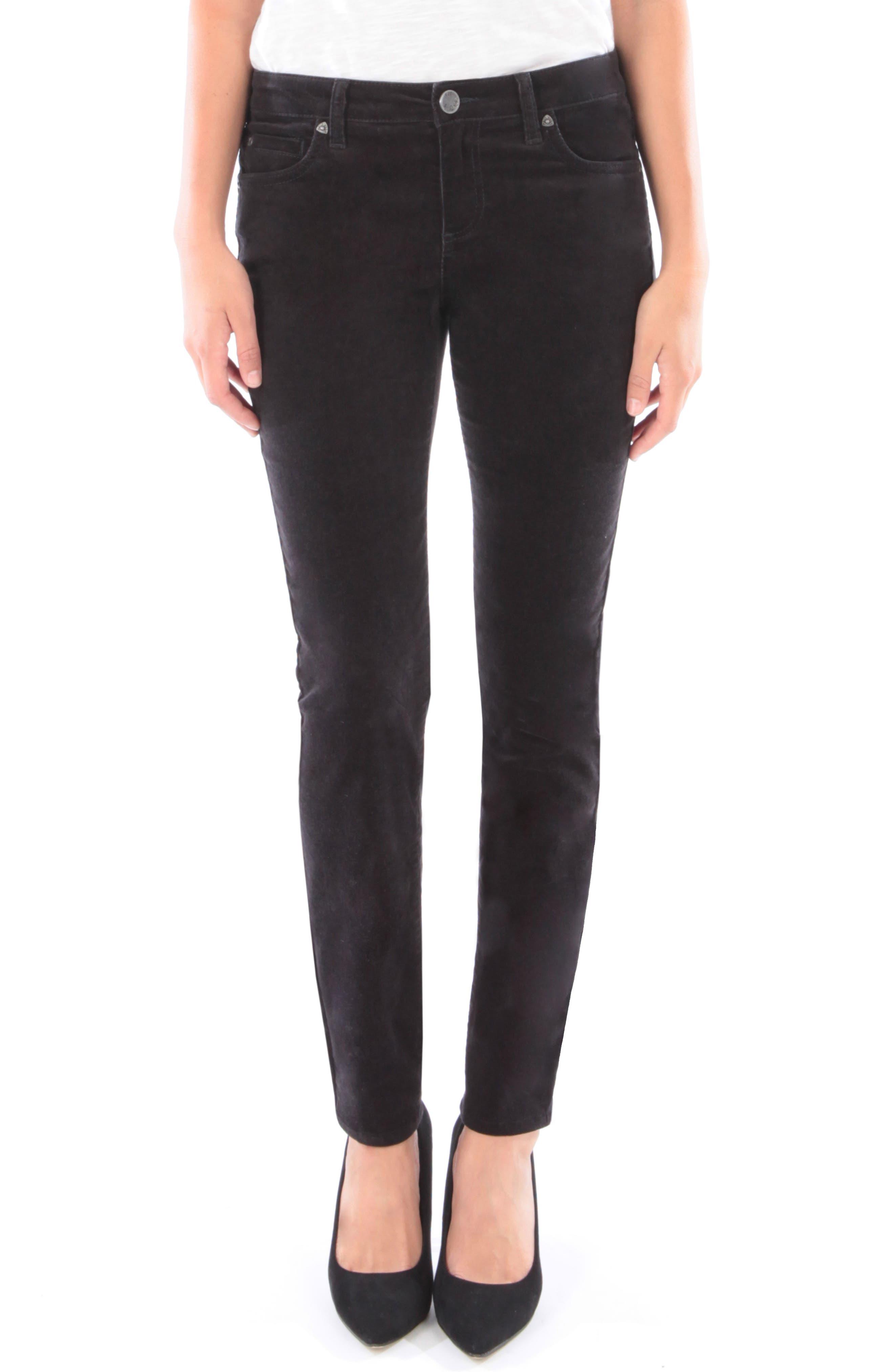'Diana' Stretch Corduroy Skinny Pants,                             Alternate thumbnail 55, color,