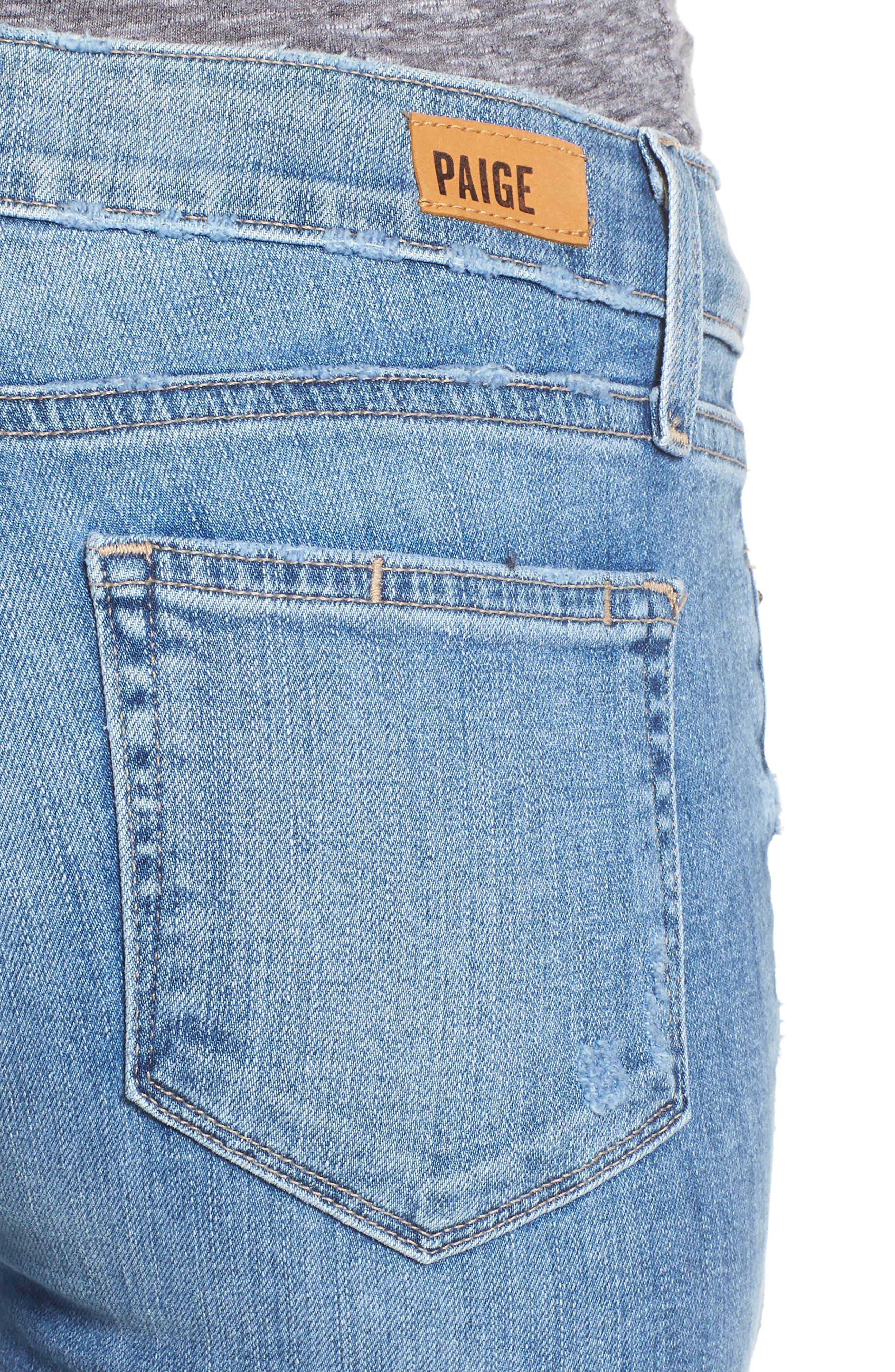 Transcend - Verdugo Ankle Ultra Skinny Jeans,                             Alternate thumbnail 4, color,                             400