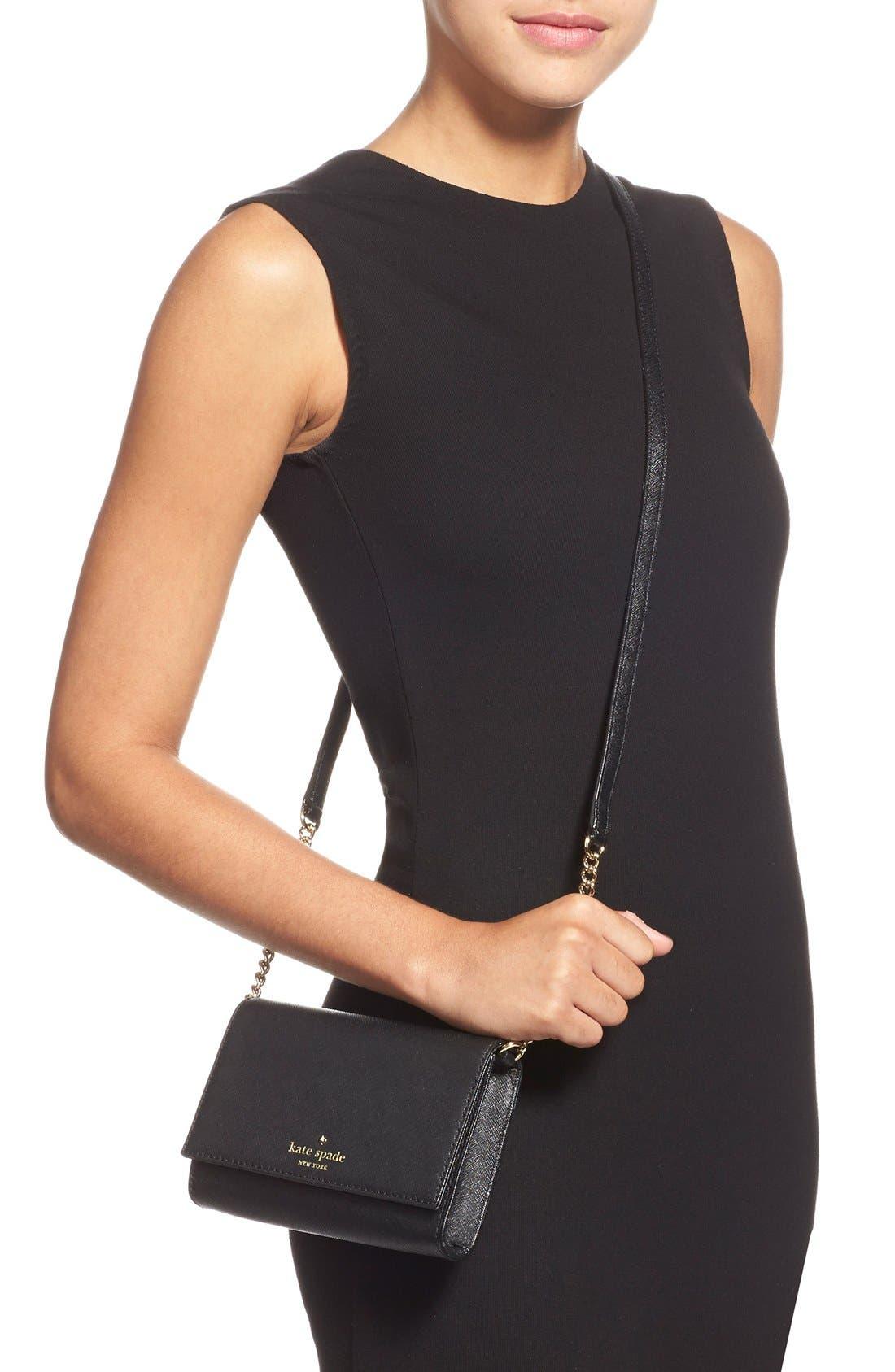 'cedar street - cami' crossbody bag,                             Alternate thumbnail 3, color,                             002