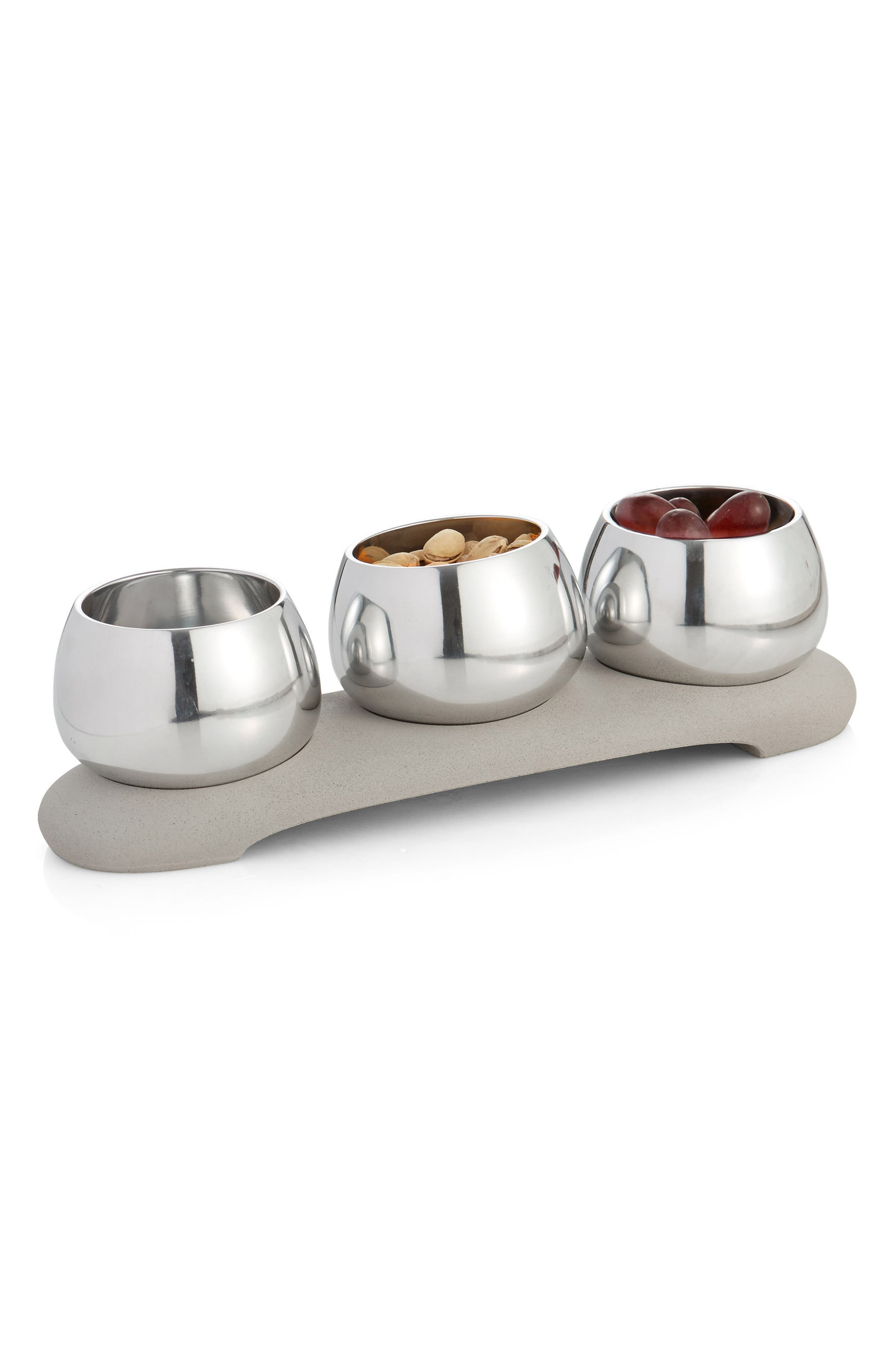 Forte 4-Piece Condiment Serving Set,                             Alternate thumbnail 2, color,                             020