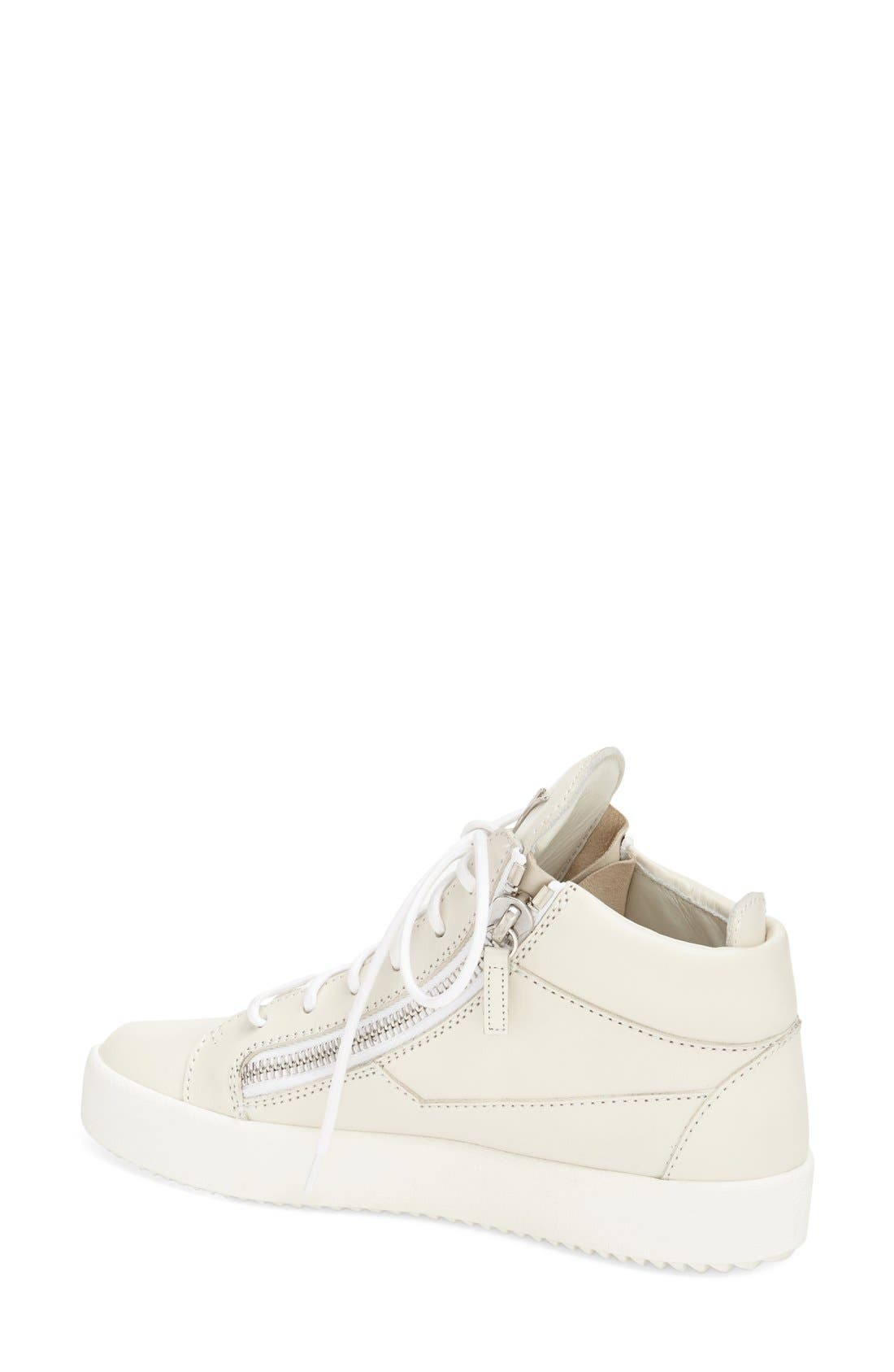 High Top Sneaker,                             Alternate thumbnail 2, color,                             020