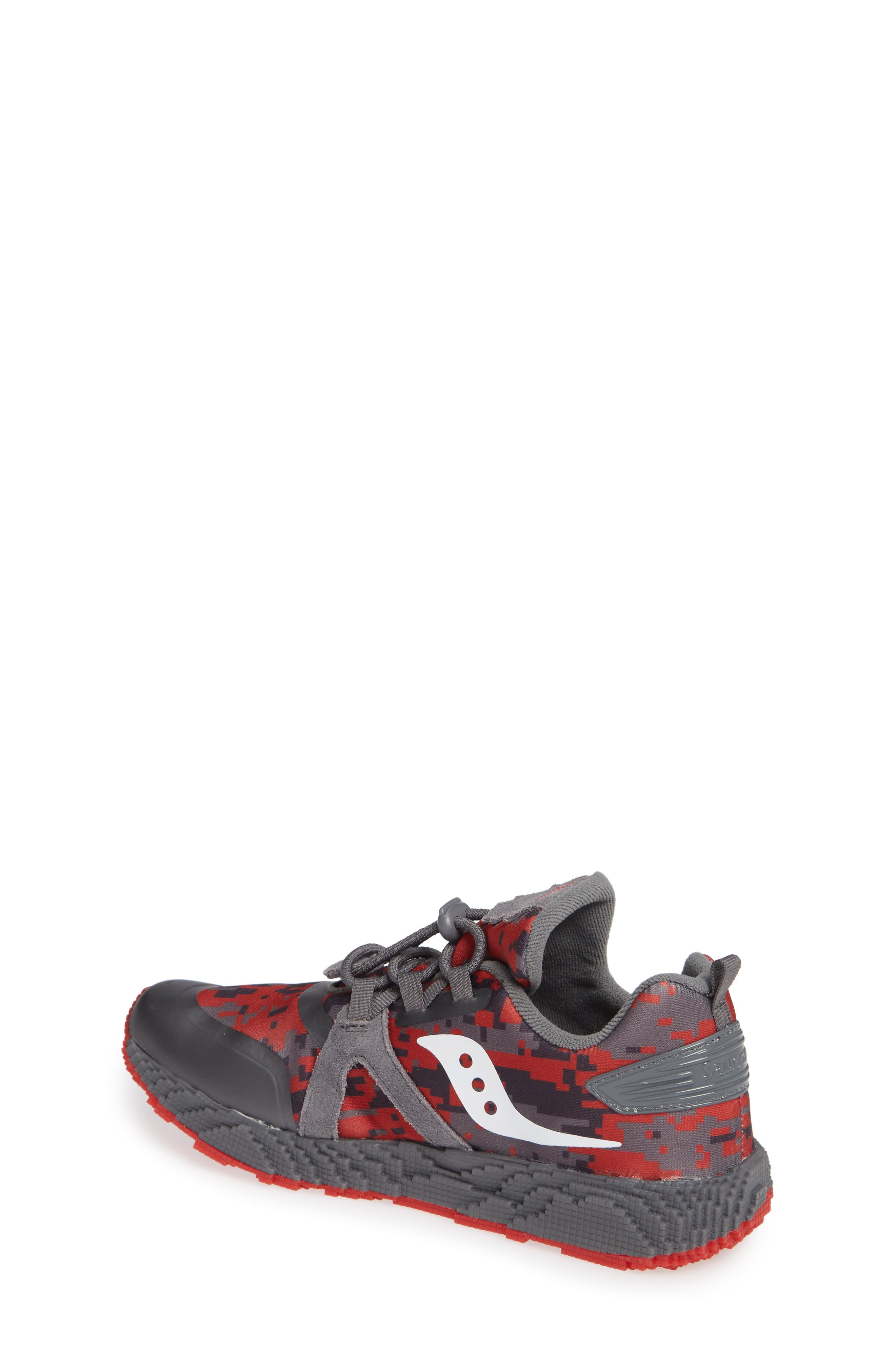 Voxel 9000 Sneaker,                             Alternate thumbnail 2, color,                             GREY LEATHER/ MESH 2