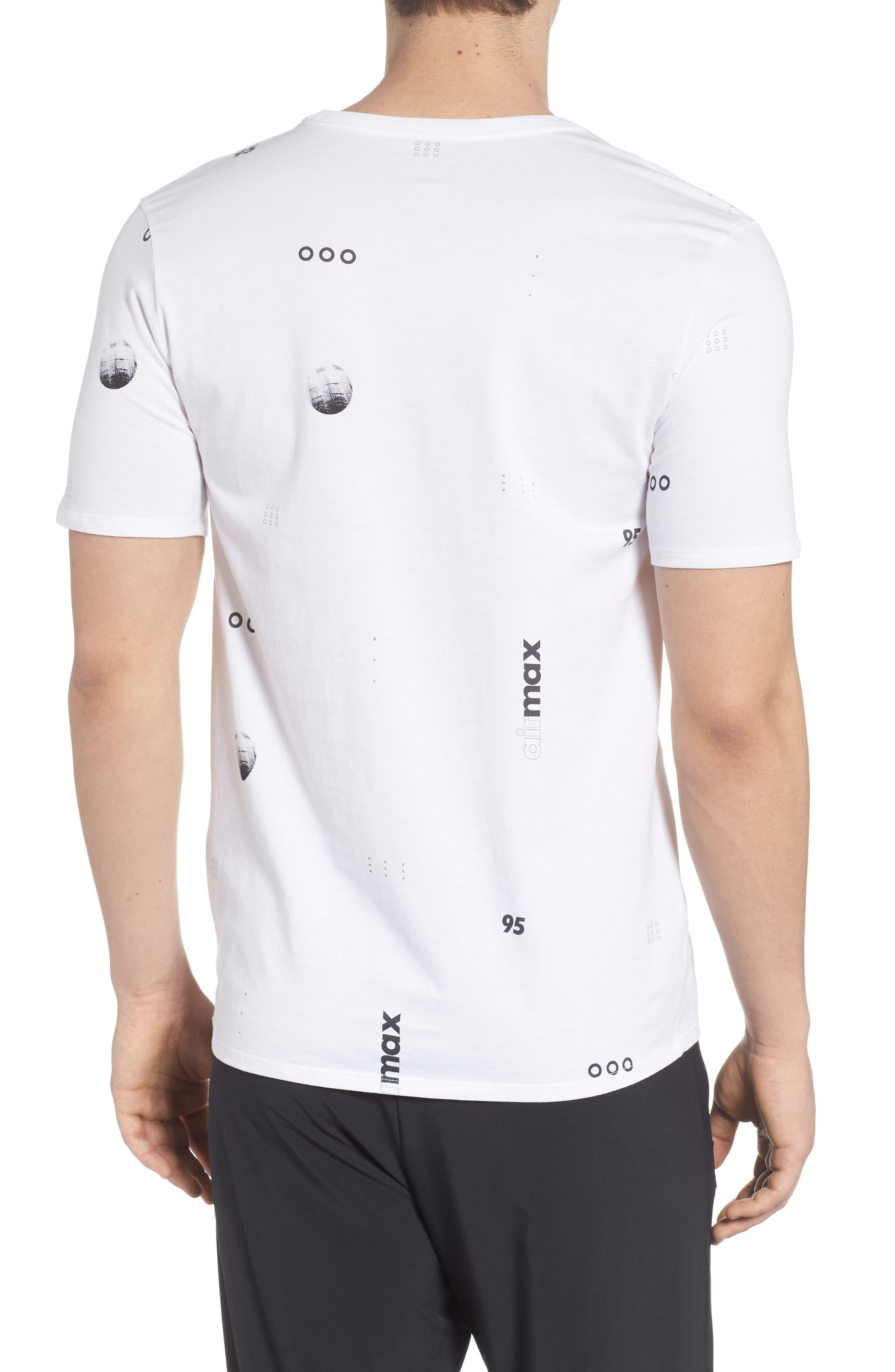 Sportswear Air Max Print T-Shirt,                             Alternate thumbnail 4, color,