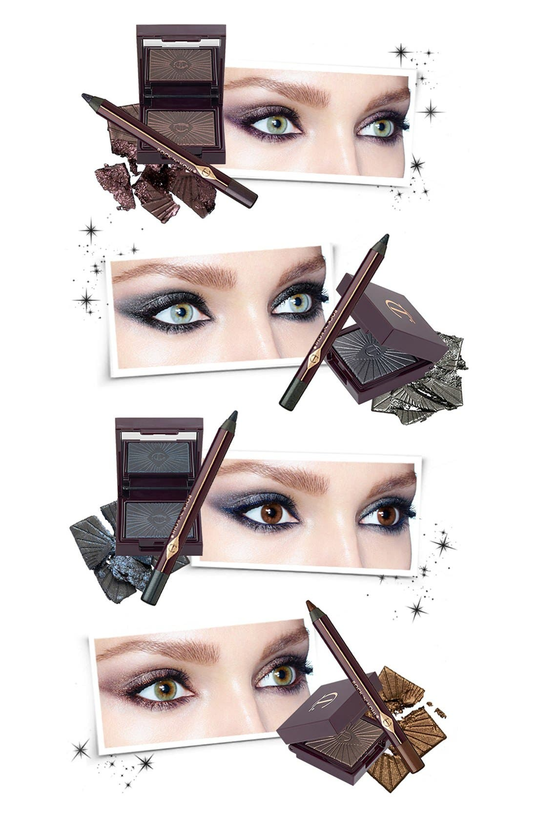 Nocturnal Cat Eyes to Hypnotise Eyeshadow & Eye Pencil Duo,                             Alternate thumbnail 4, color,                             040