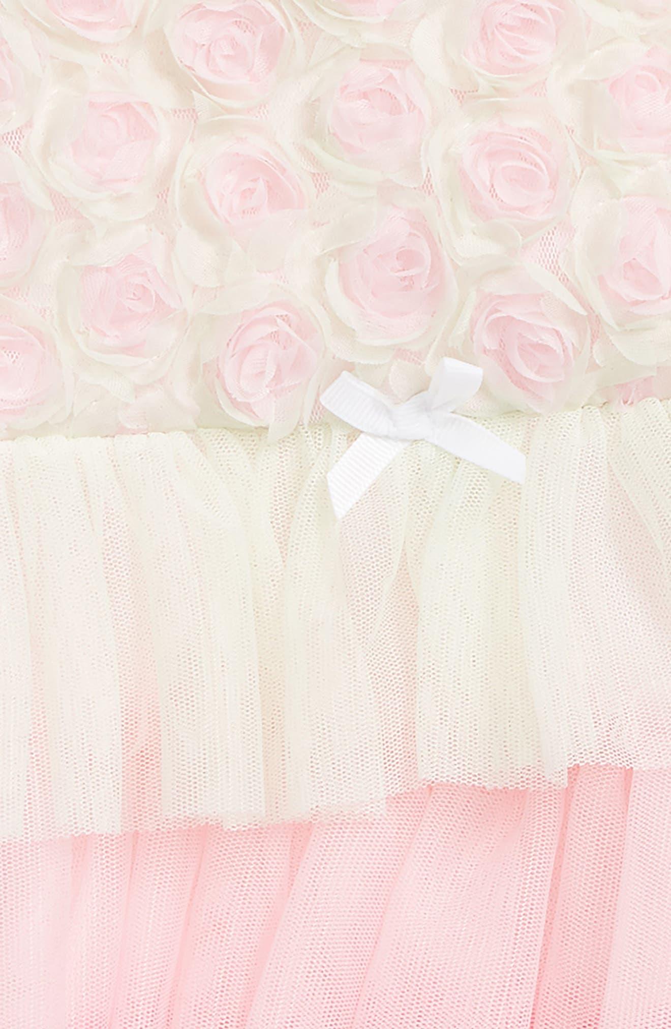 Rosette Popover Bodysuit & Head Wrap Set,                             Alternate thumbnail 2, color,