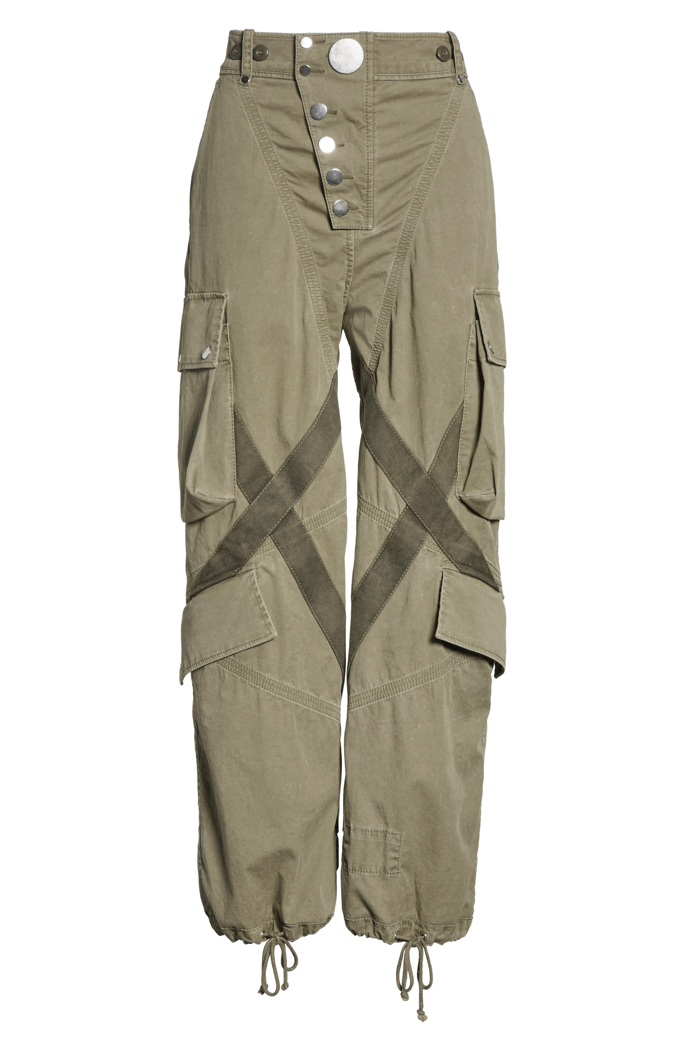 Tie Cuff Army Trousers,                             Alternate thumbnail 6, color,                             327