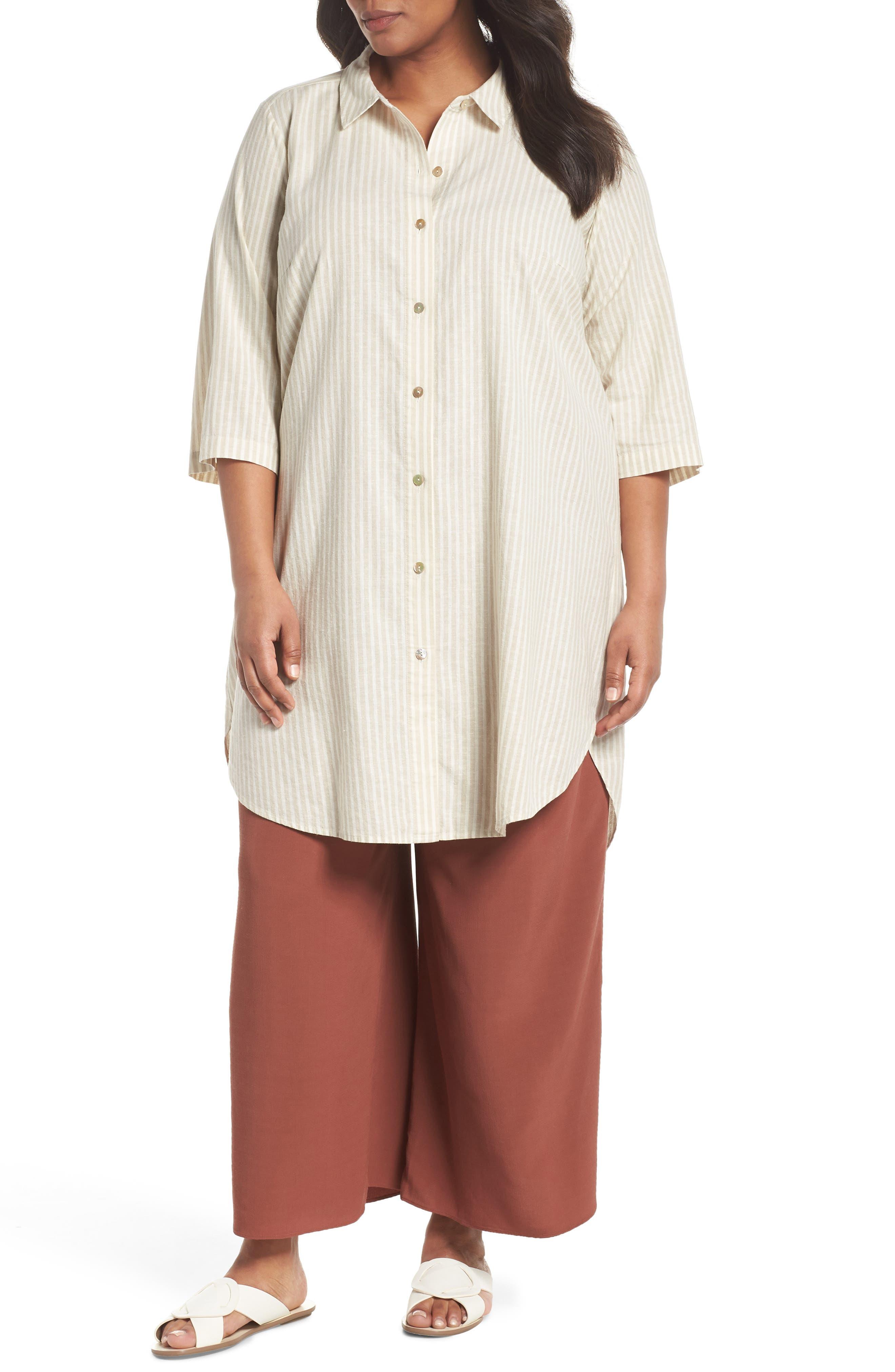 Stripe Tunic Top,                         Main,                         color, 257