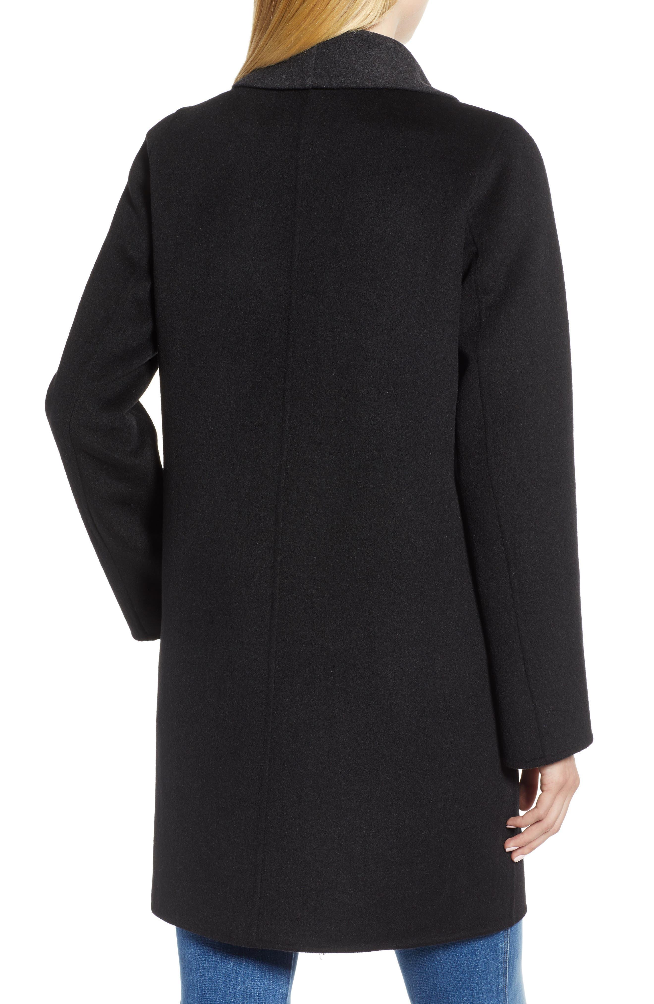 Jenn Double Face Wool Blend Reversible Coat,                             Alternate thumbnail 2, color,                             016