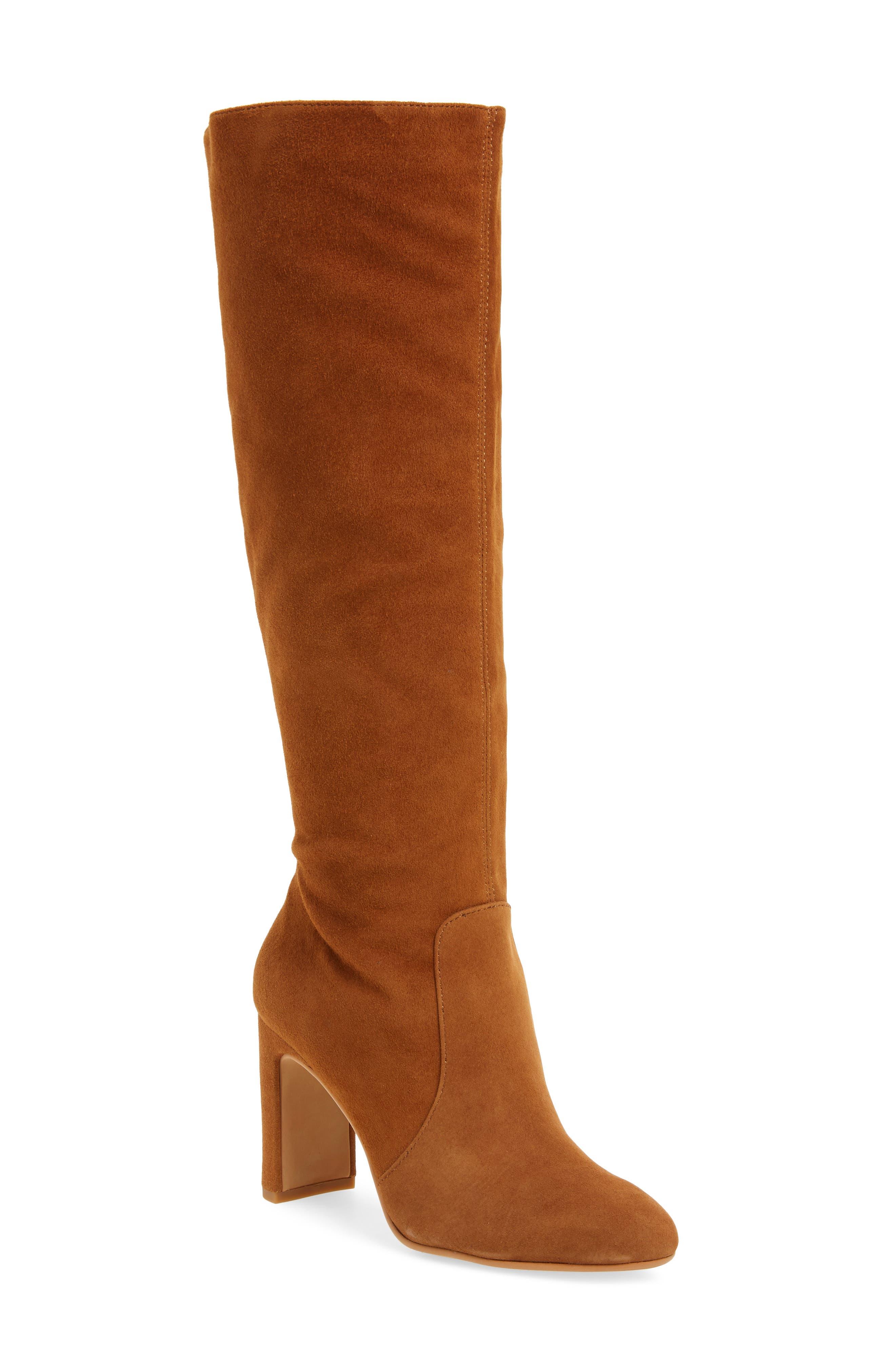 Dolce Vita Coop Knee High Boot, Brown