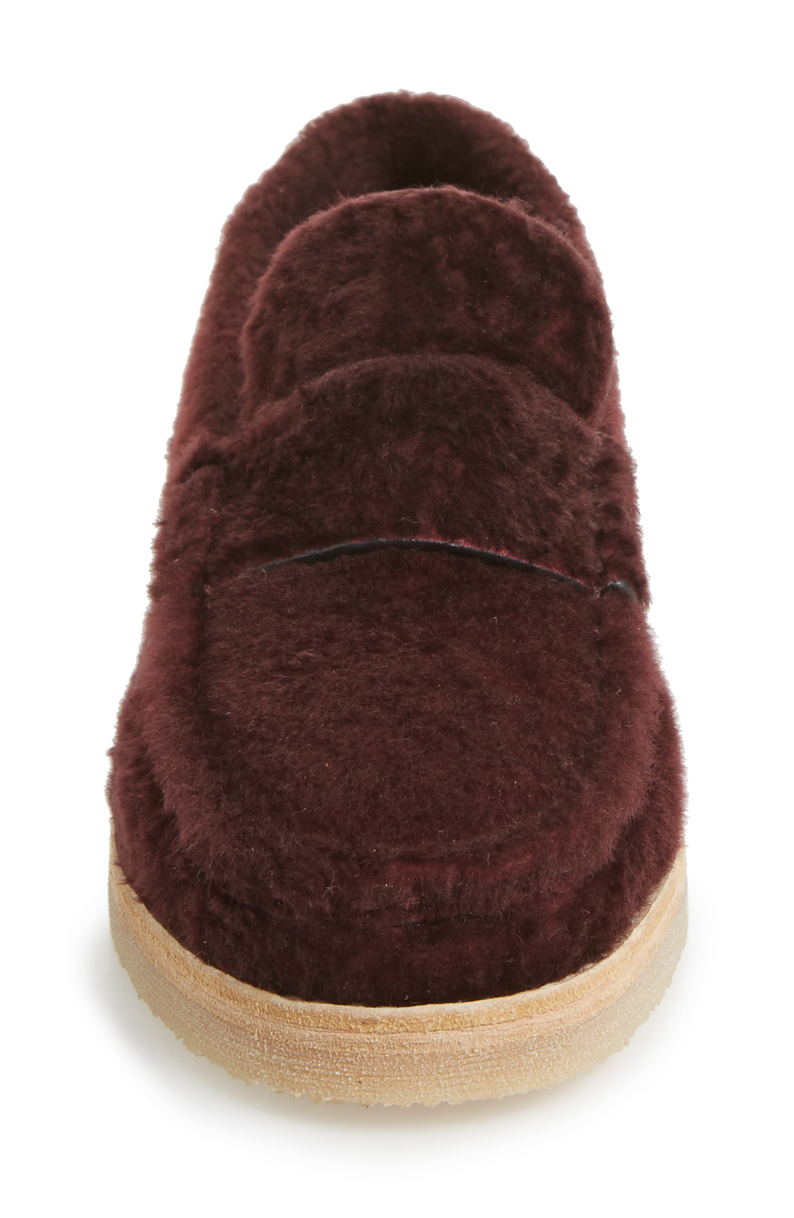 Bromley Genuine Shearling Loafer,                             Alternate thumbnail 12, color,