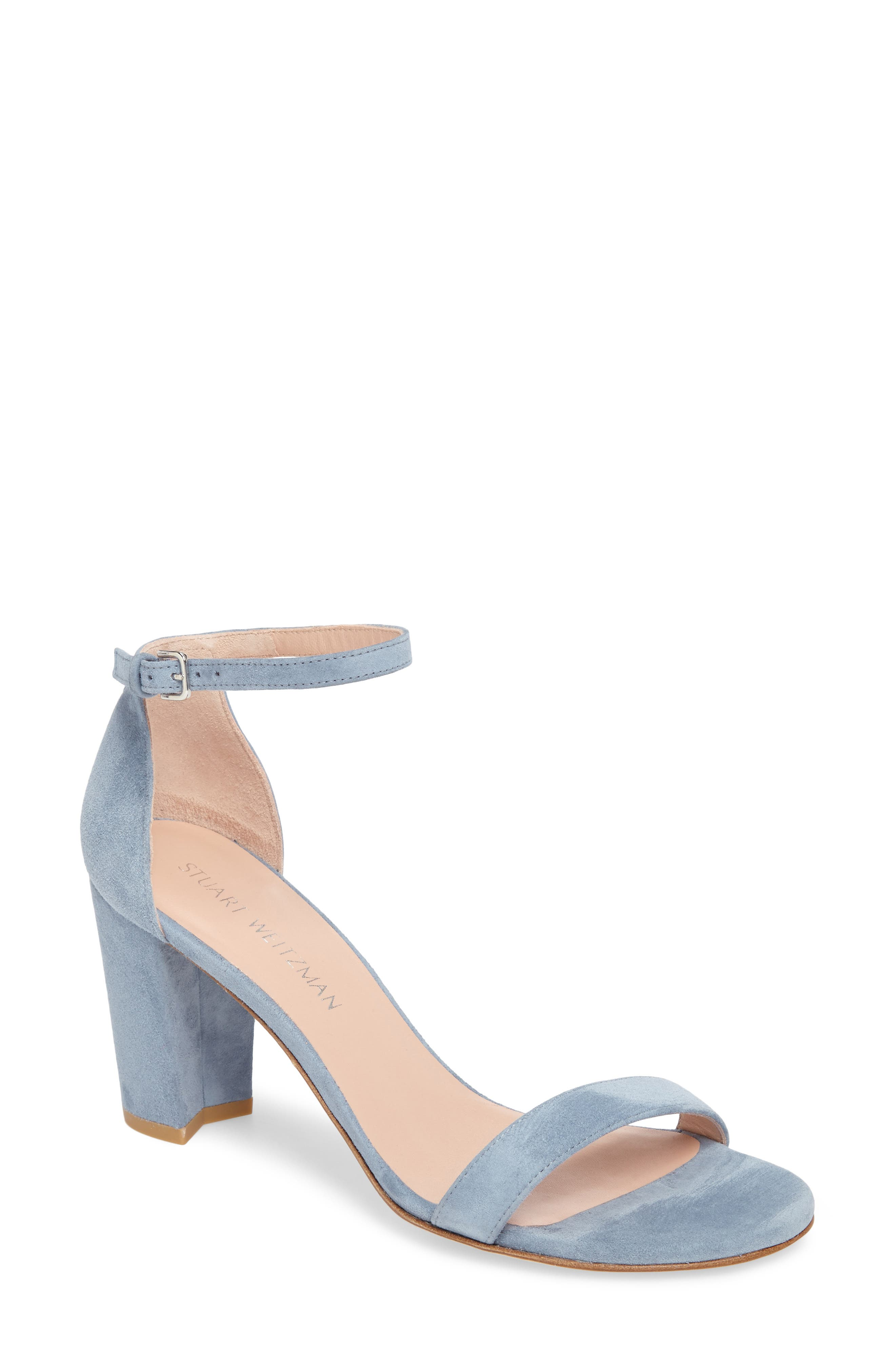 NearlyNude Ankle Strap Sandal,                             Main thumbnail 6, color,