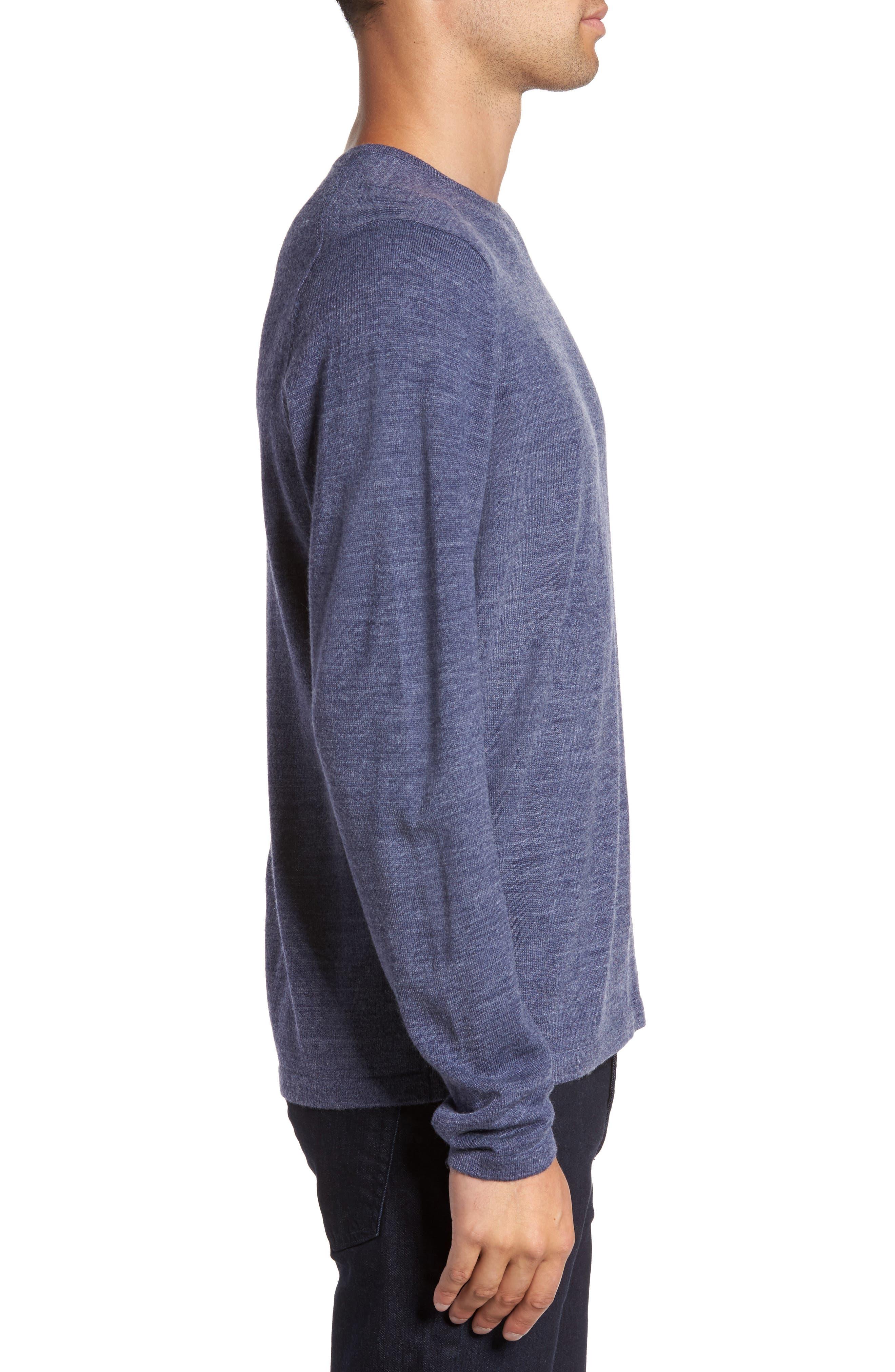 Merino Blend Crewneck Sweater,                             Alternate thumbnail 12, color,