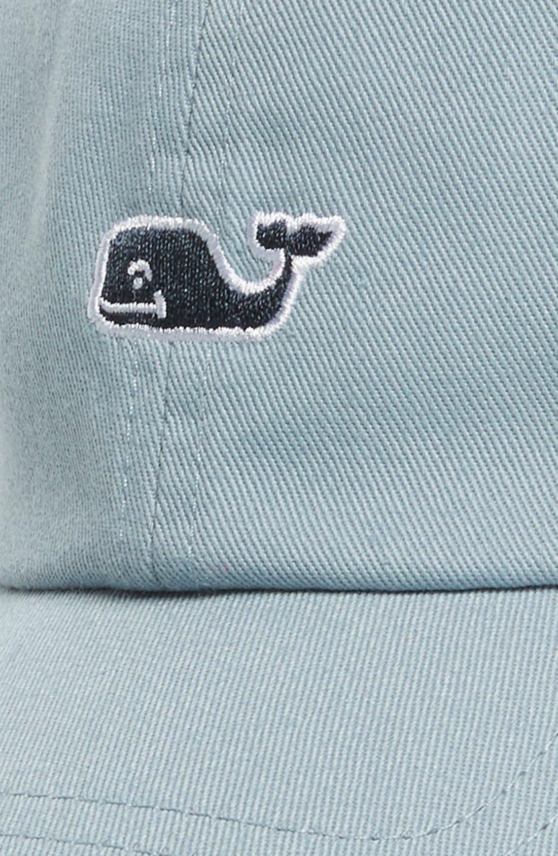 VINEYARD VINES,                             Whale Logo Cap,                             Alternate thumbnail 2, color,                             034