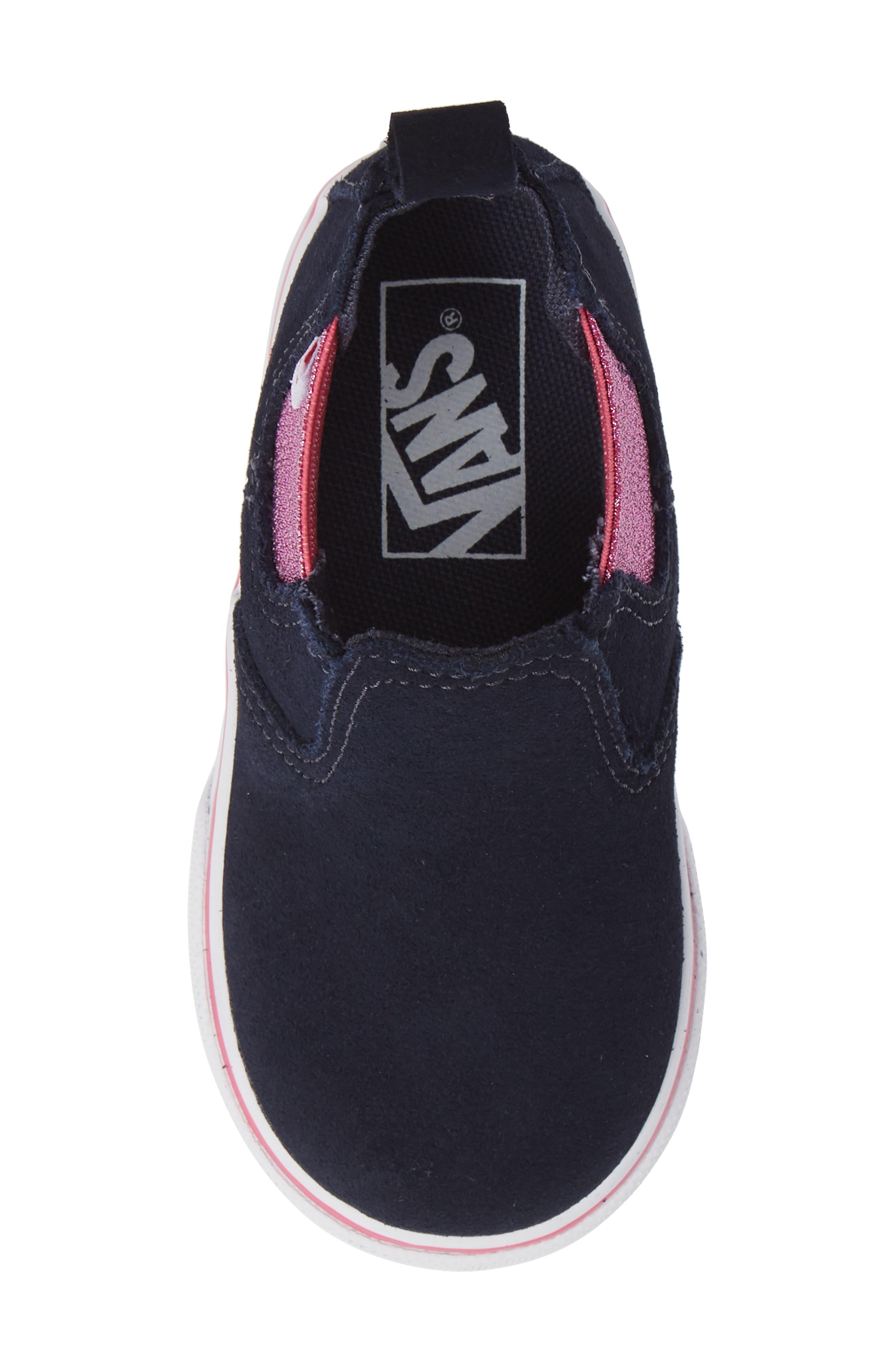 Classic Slip-On Sneaker,                             Alternate thumbnail 5, color,                             421