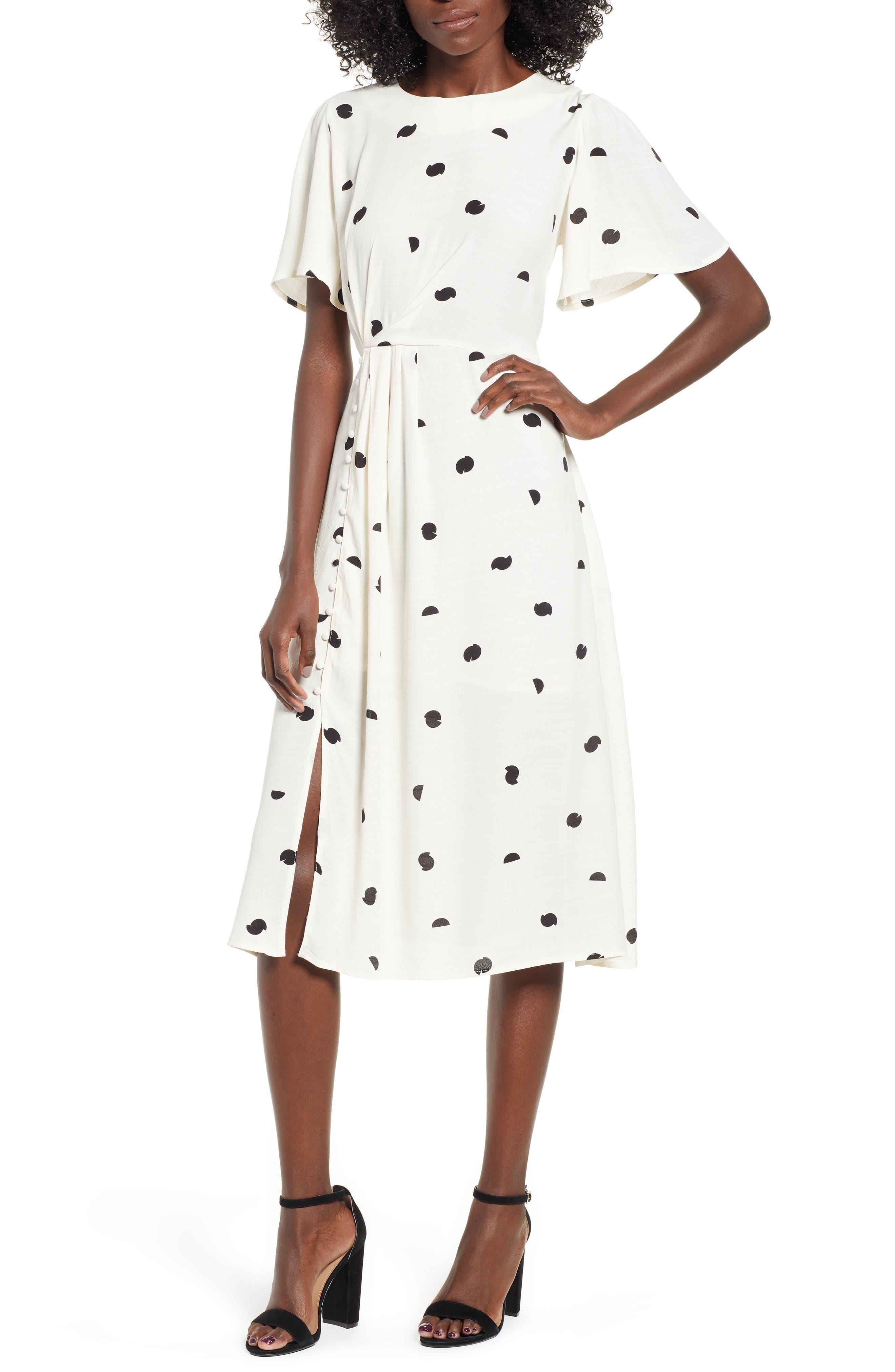 ASTR THE LABEL,                             Ebony Dress,                             Alternate thumbnail 6, color,                             900
