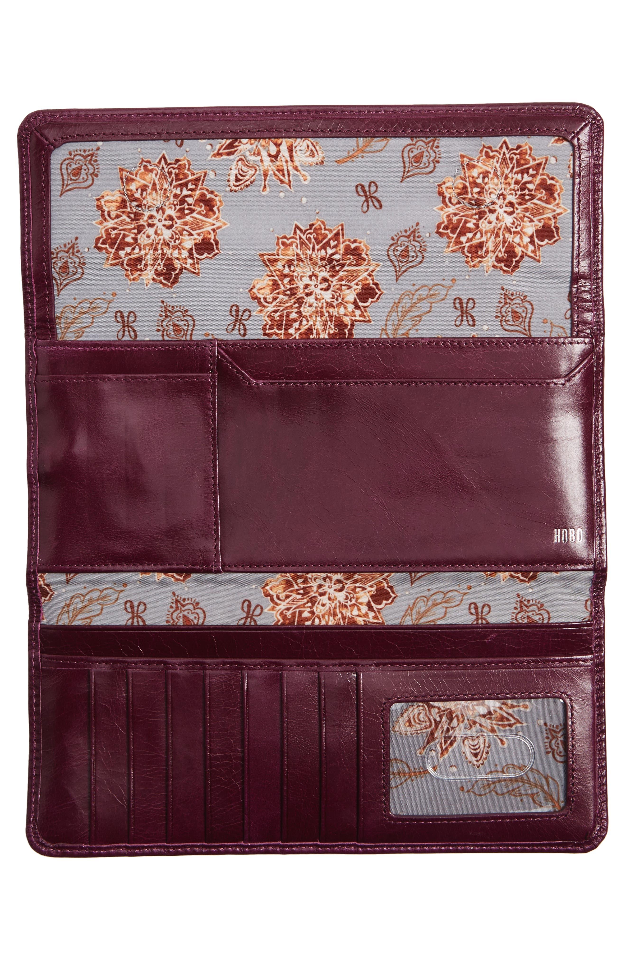 'Sadie' Leather Wallet,                             Alternate thumbnail 142, color,