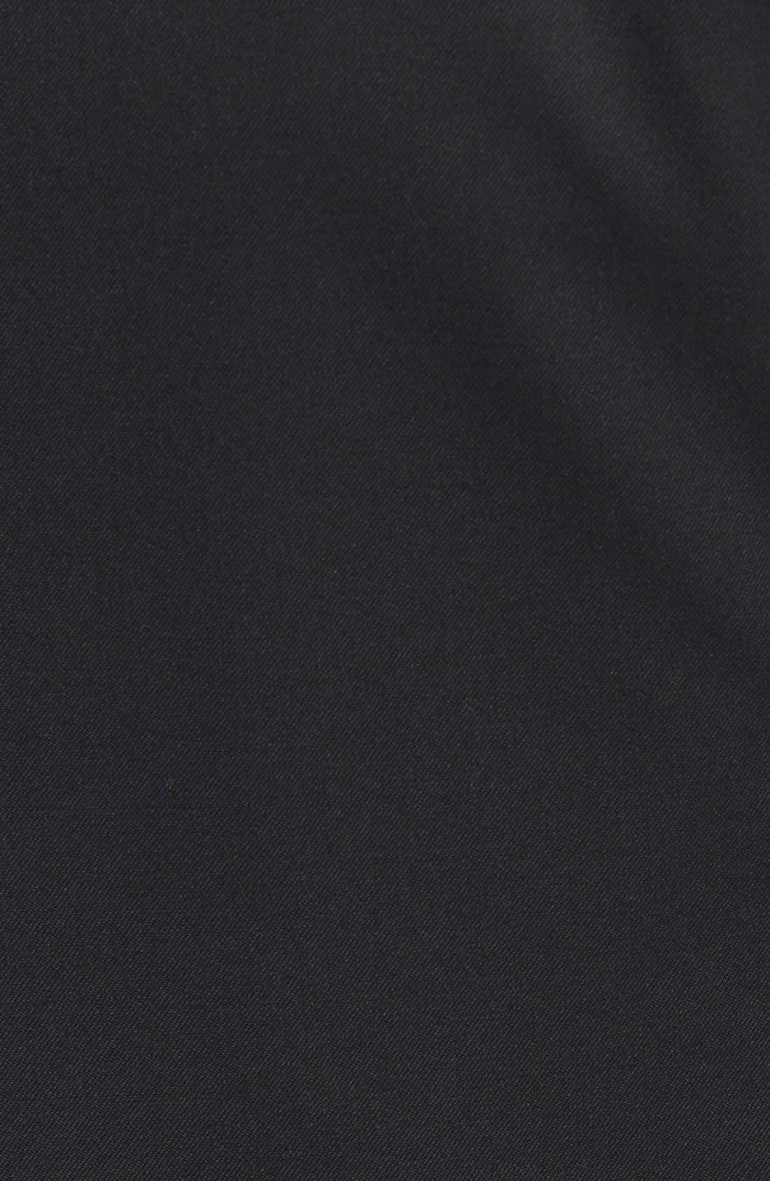 RAG & BONE,                             'Archer' One-Button Wool Blend Blazer,                             Alternate thumbnail 3, color,                             001