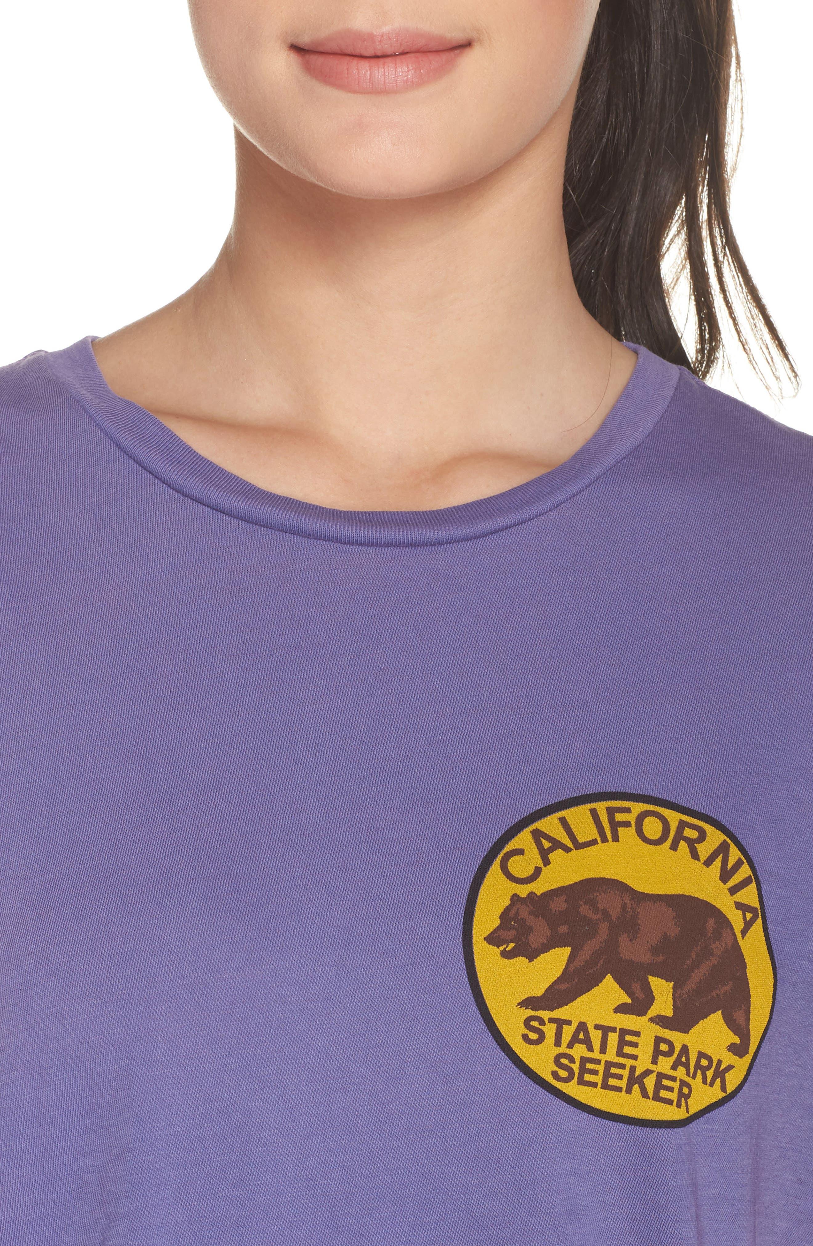 California Bear Graphic Tee,                             Alternate thumbnail 4, color,                             540