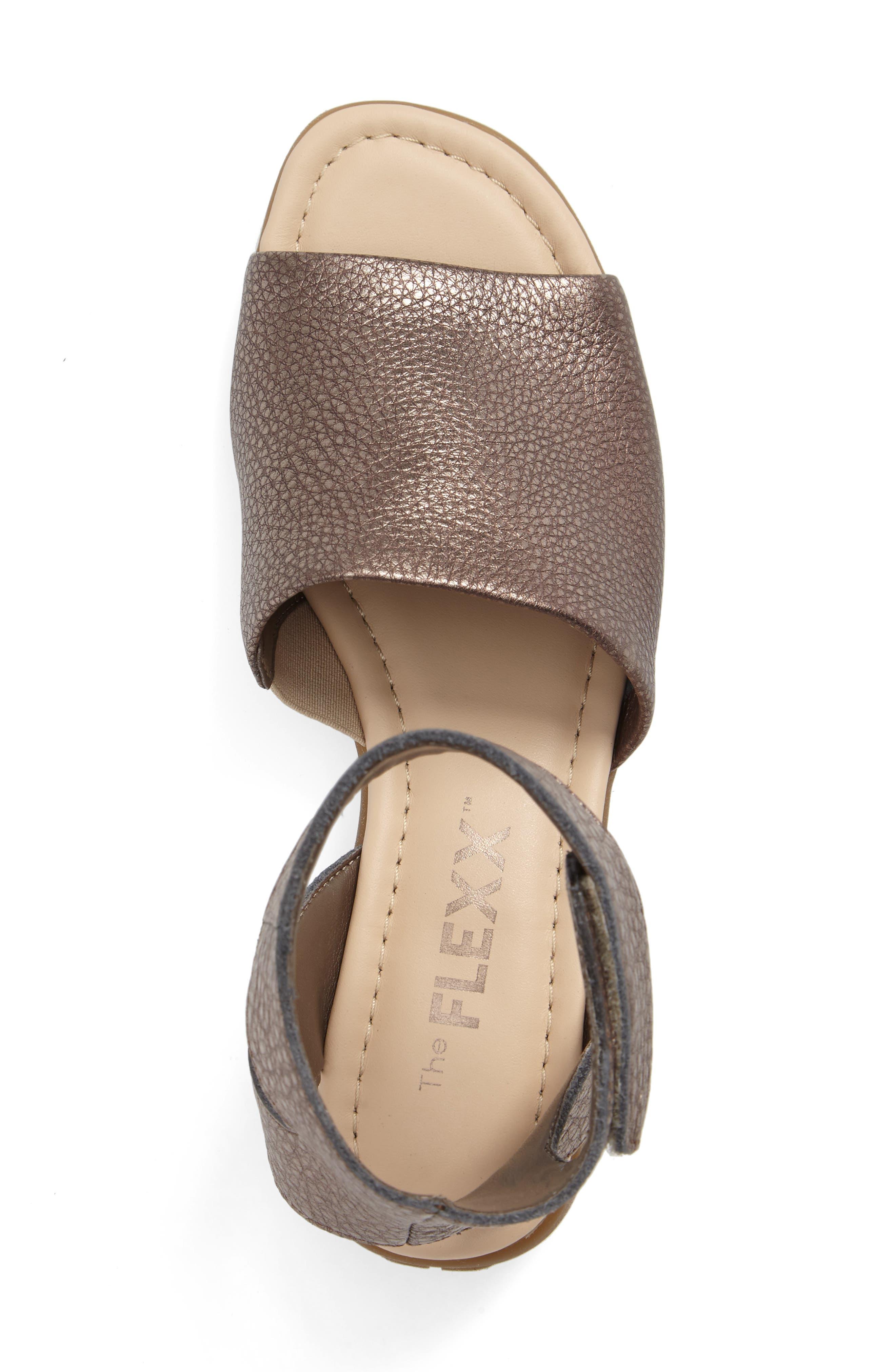 'Beglad' Leather Ankle Strap Sandal,                             Alternate thumbnail 39, color,