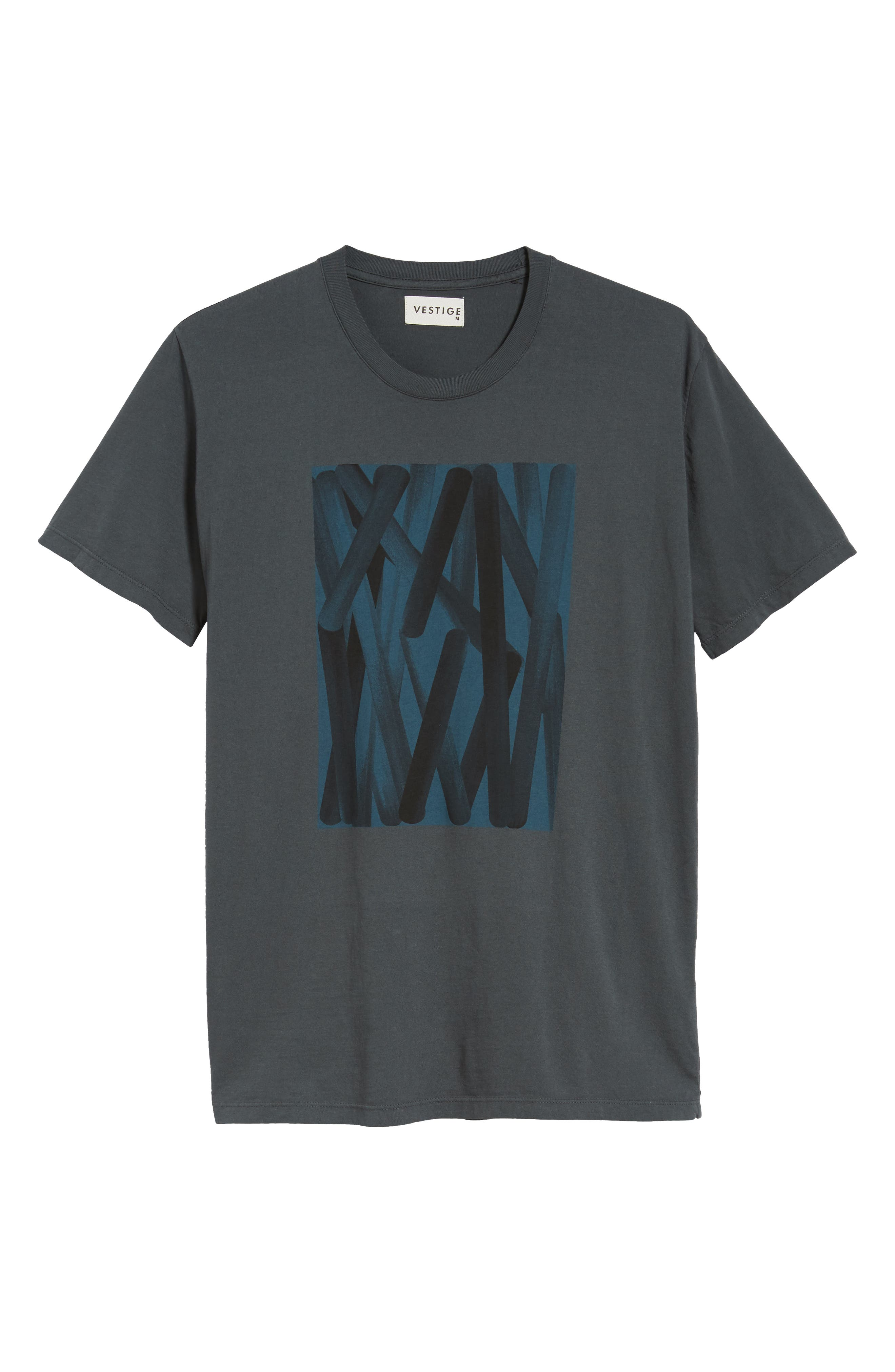 Color Abstraction T-Shirt,                             Alternate thumbnail 6, color,                             020