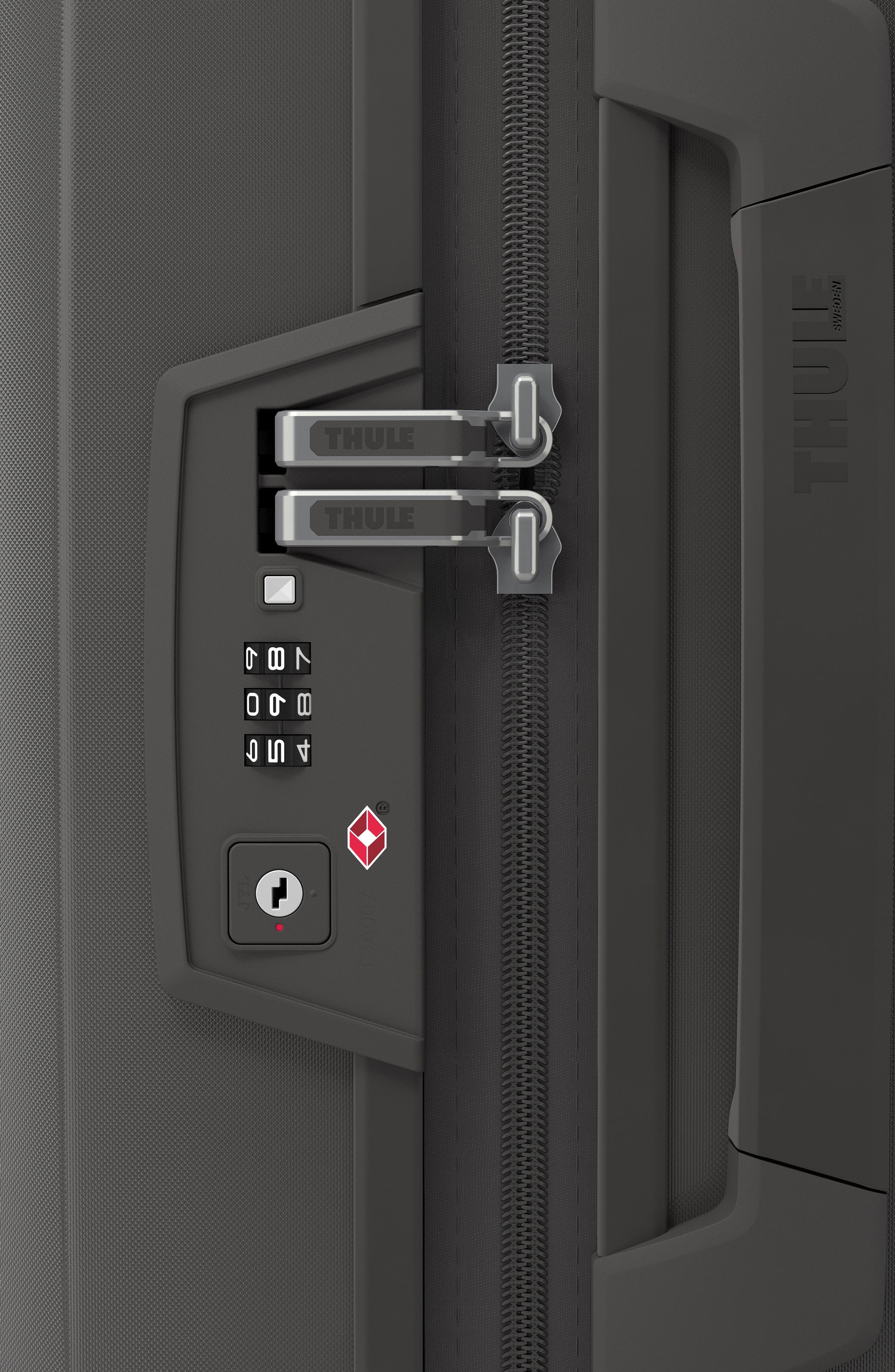 THULE,                             Revolve 30-Inch Spinner Suitcase,                             Alternate thumbnail 5, color,                             RAVEN GRAY