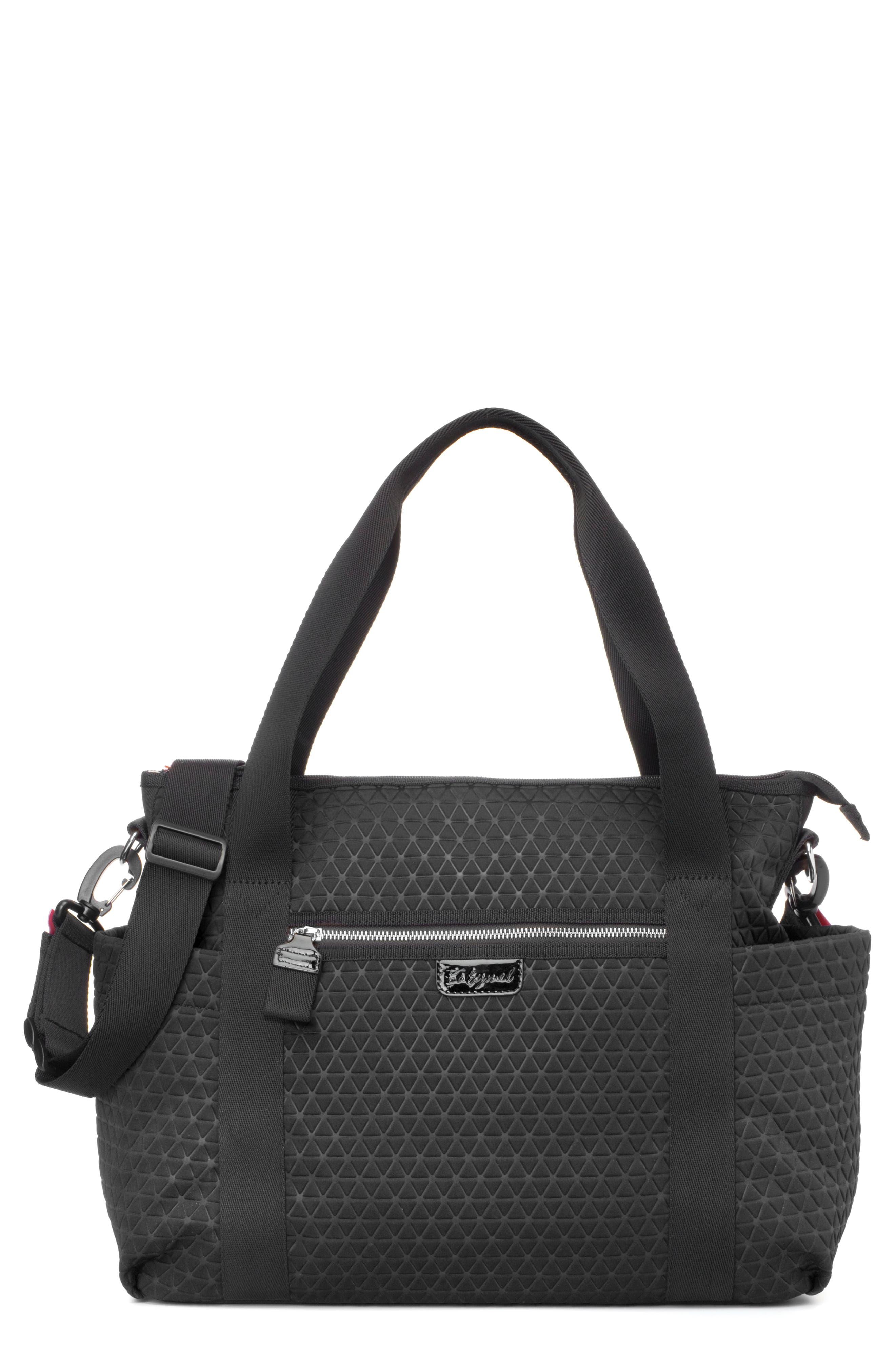 Cara Ultra Lite Diaper Bag,                         Main,                         color, BLACK