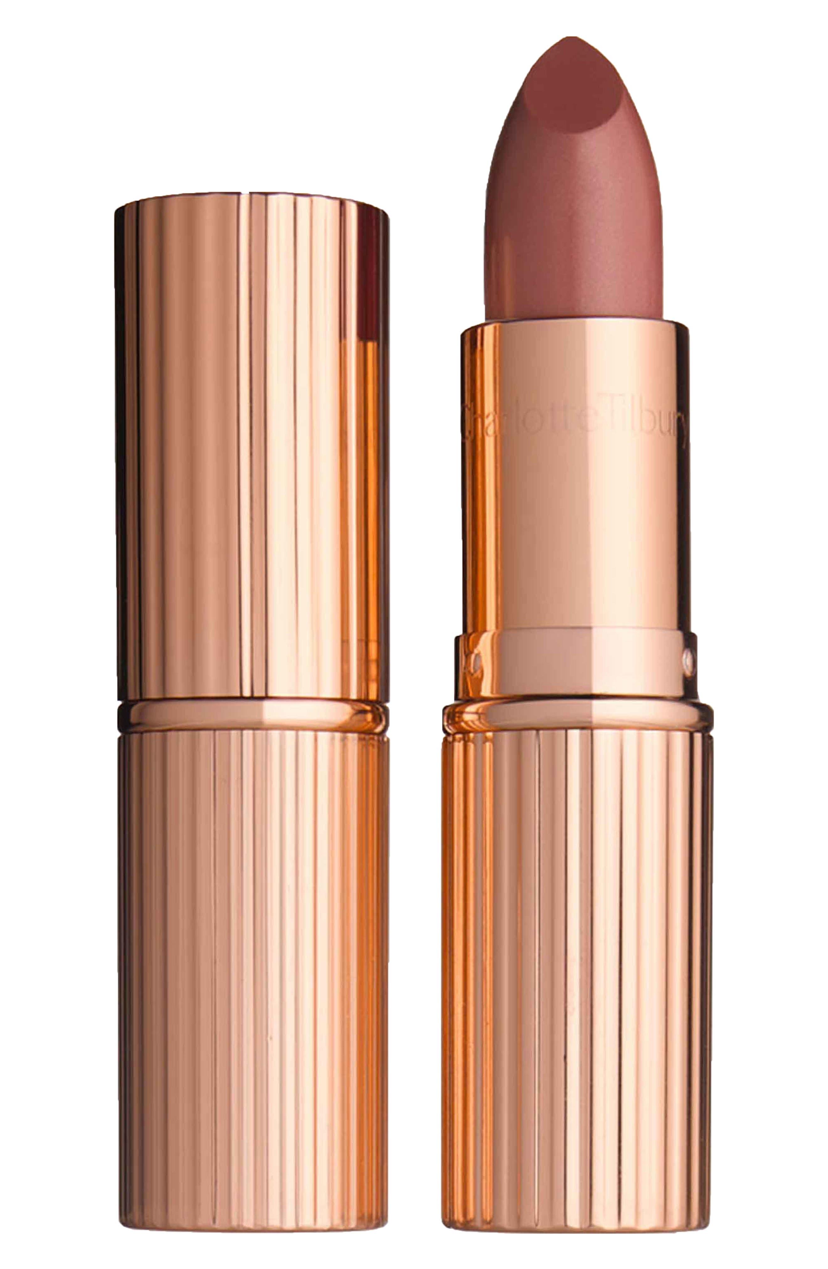 K.I.S.S.I.N.G Lipstick,                             Main thumbnail 1, color,                             STONED ROSE