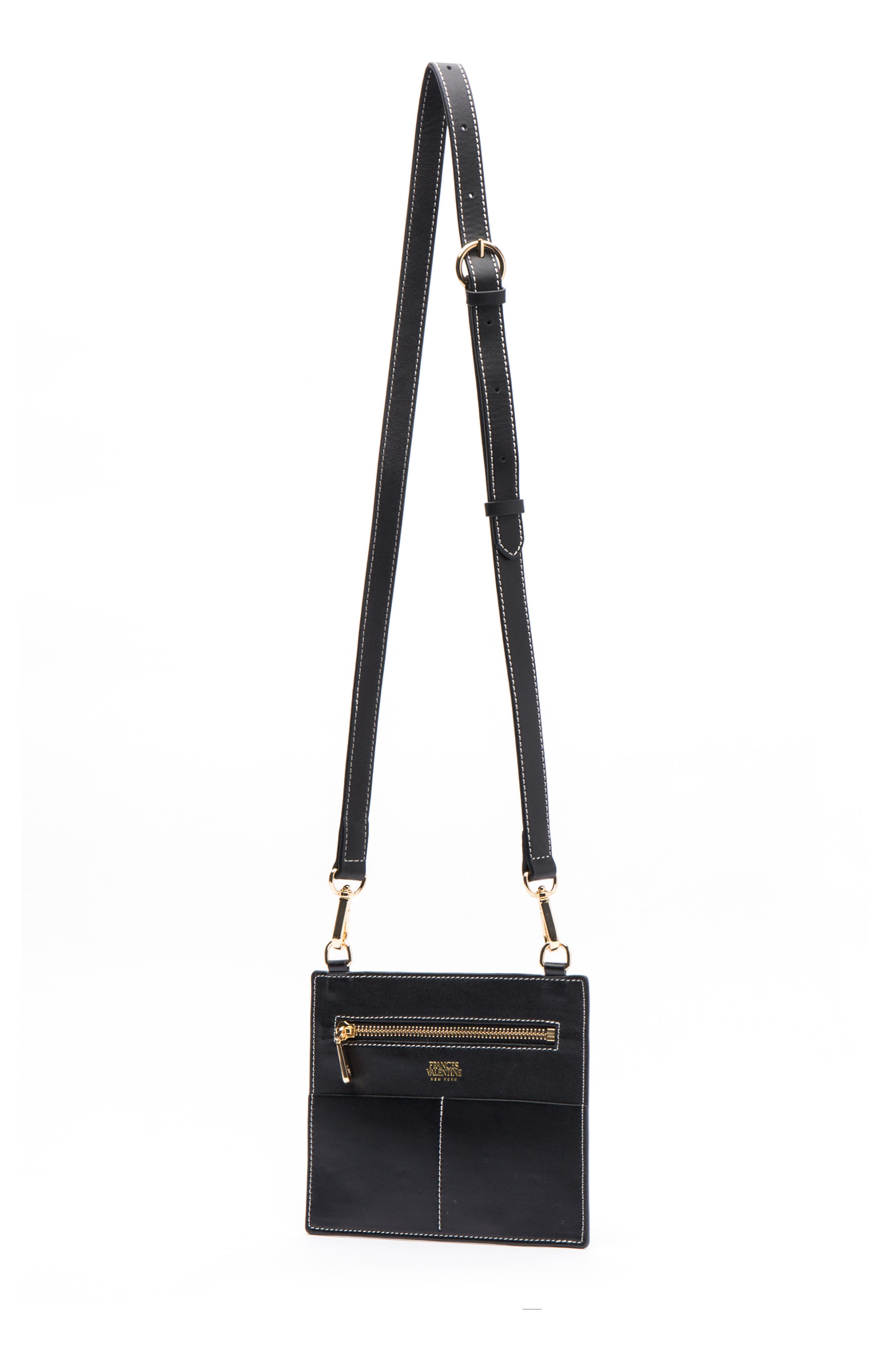 Small Chloe Leather Tote,                             Alternate thumbnail 2, color,                             BLACK