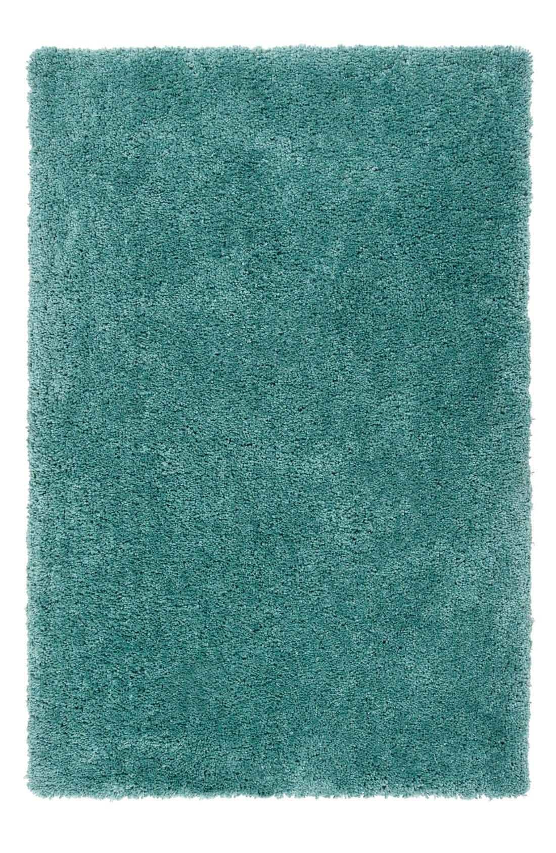 'Goddess' Rug,                         Main,                         color, SKY BLUE