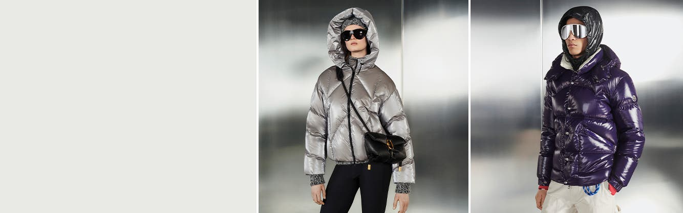 Moncler clothing and accessories for women and men.