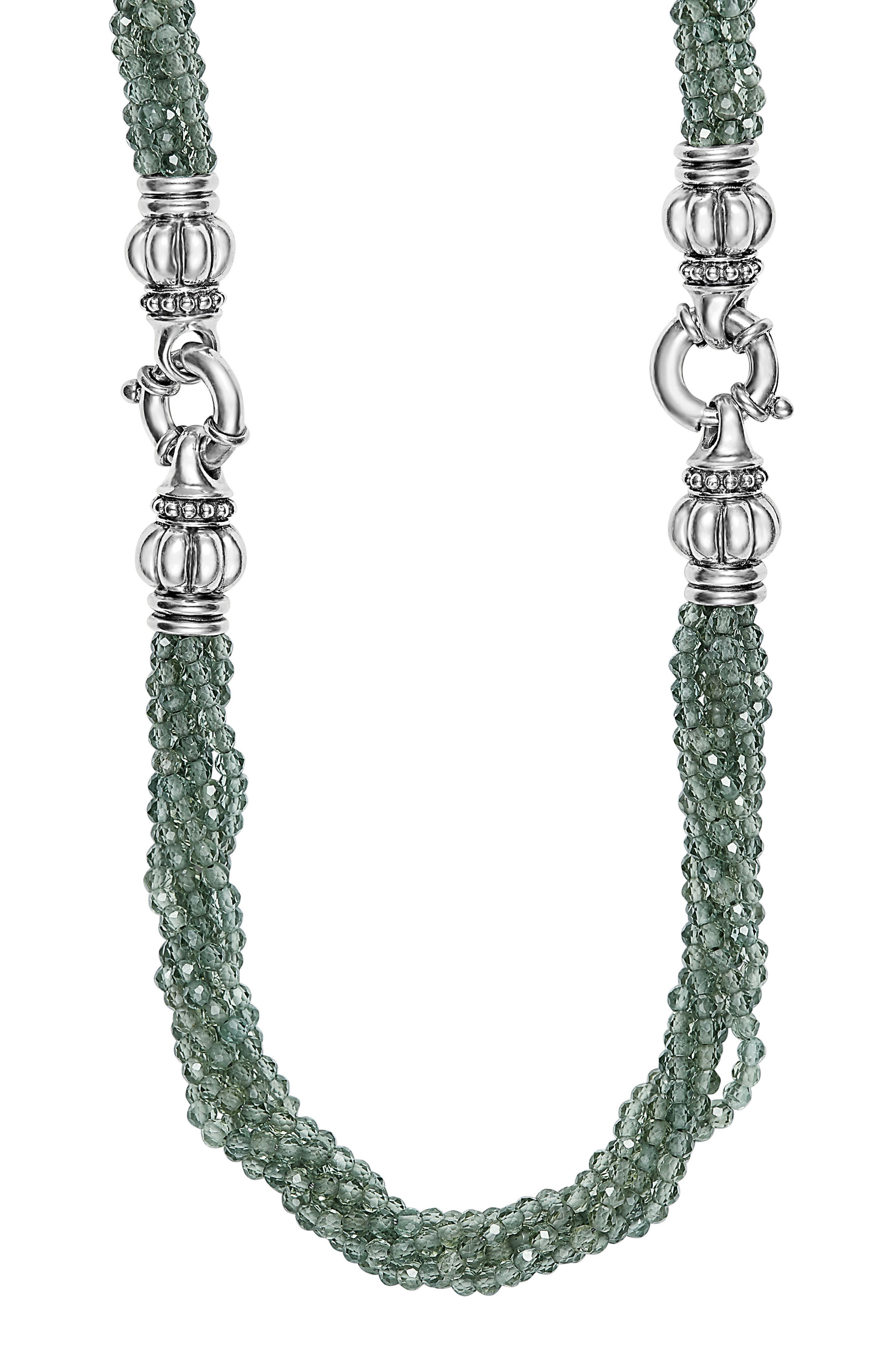 Caviar Icon Bead Convertible Bracelet & Necklace,                             Main thumbnail 1, color,                             040
