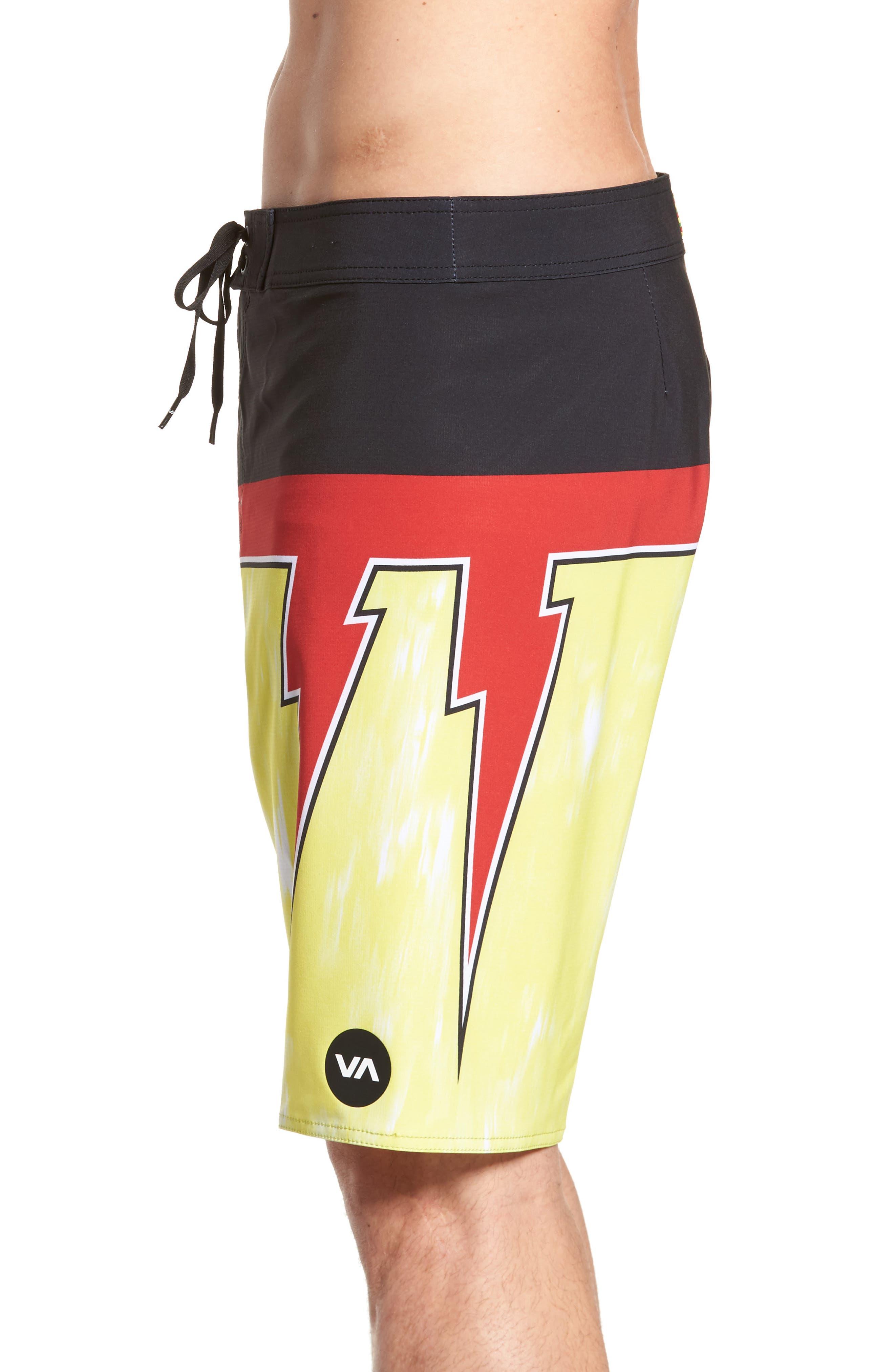 Makua Bolt Board Shorts,                             Alternate thumbnail 4, color,                             740