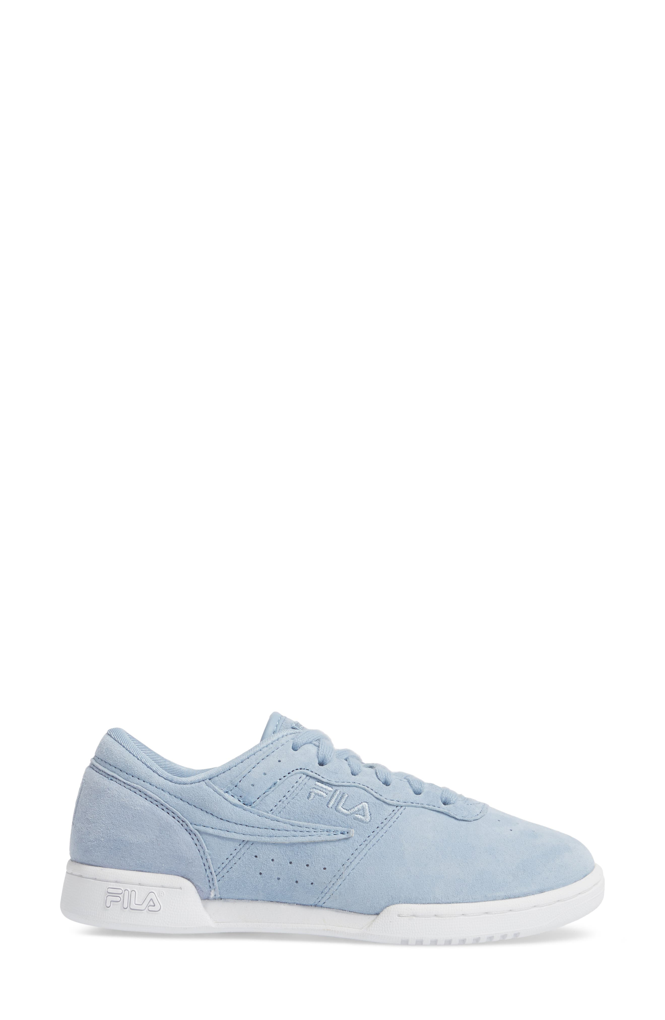 Original Fitness Premium Sneaker,                             Alternate thumbnail 3, color,                             BLUE/ WHITE