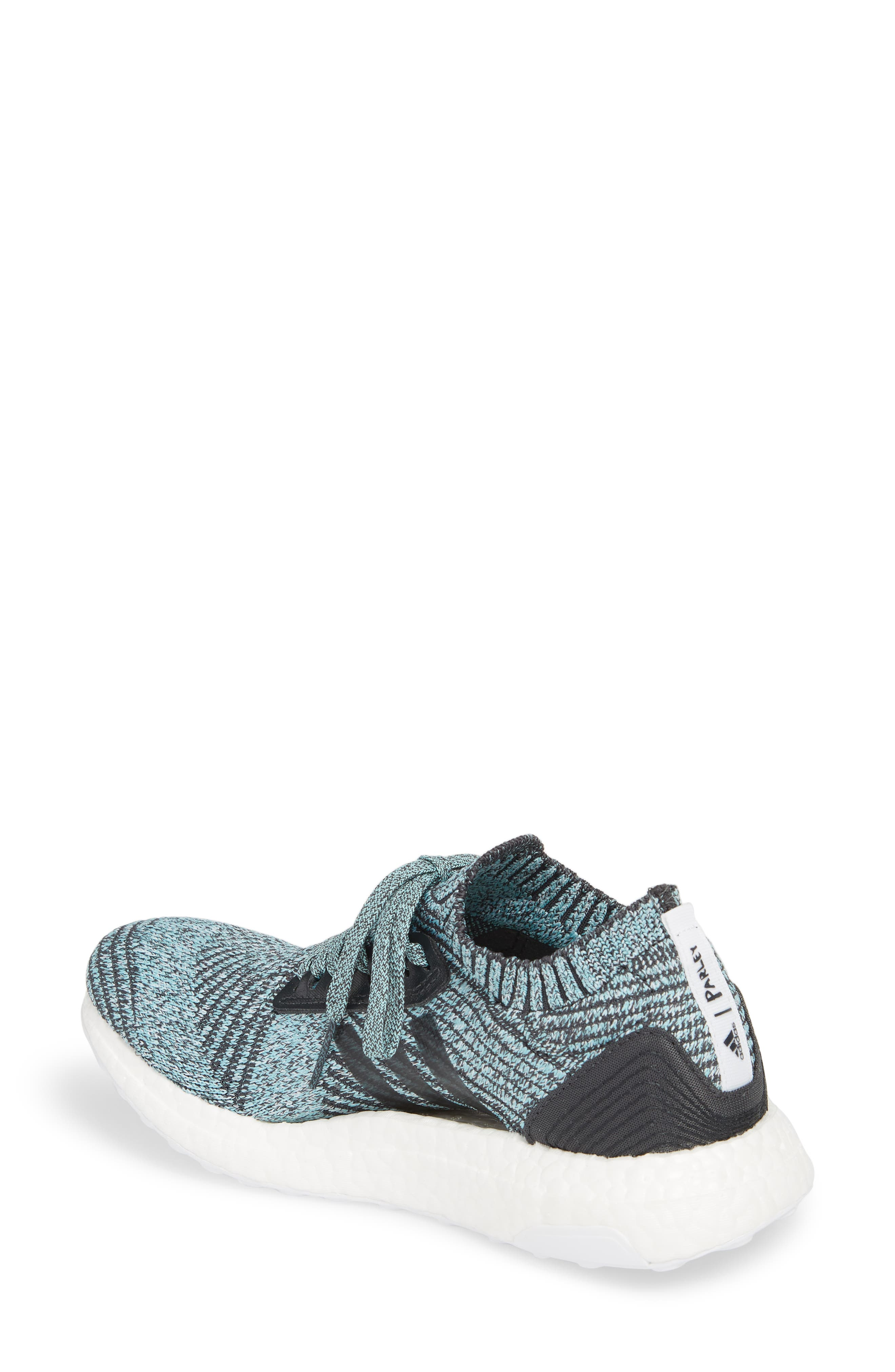 by Stella McCartney UltraBoost x Parley Running Shoe,                             Alternate thumbnail 7, color,