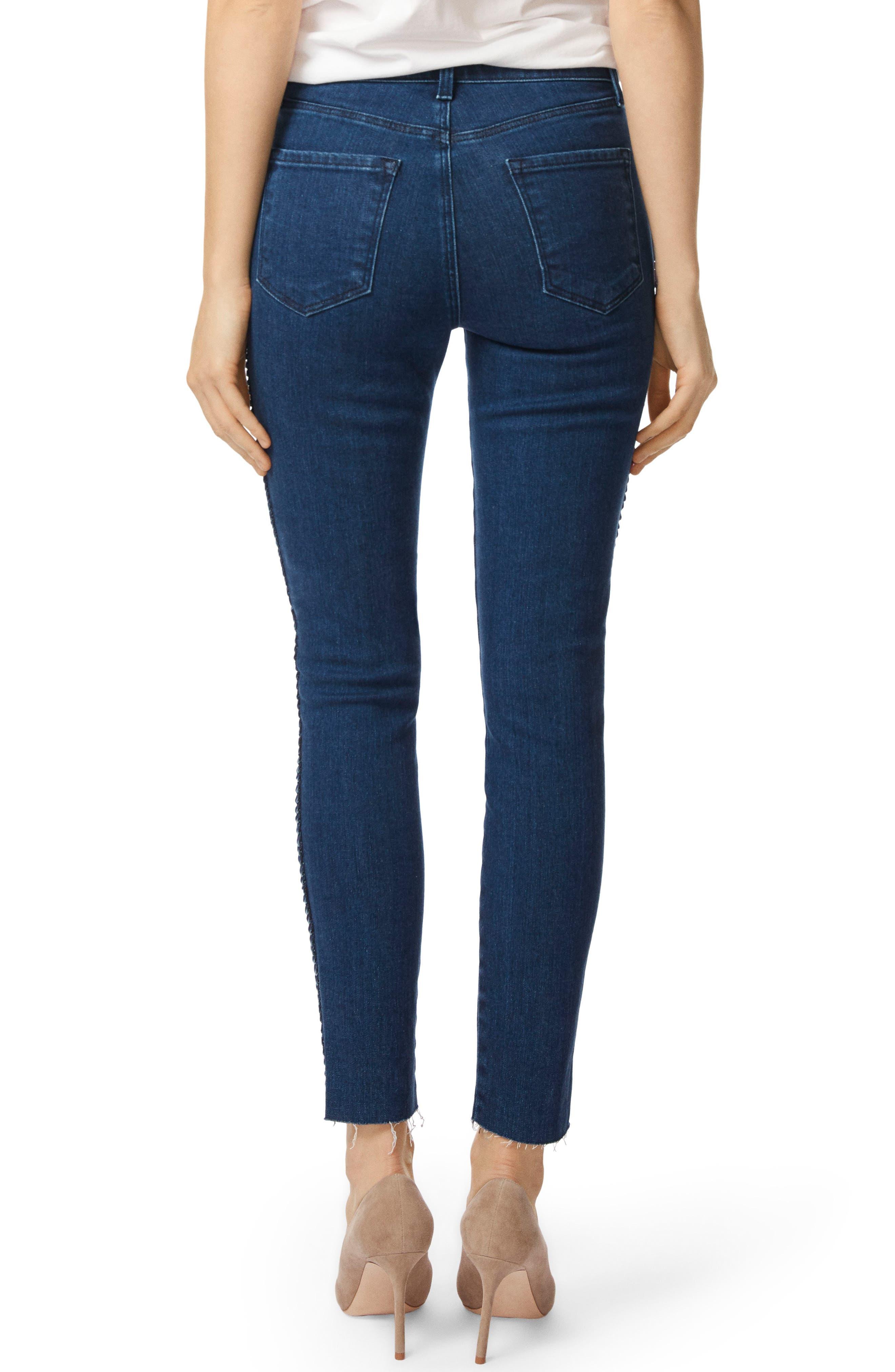 J BRAND Alana High Waist Ankle Skinny Jeans, Main, color, 405